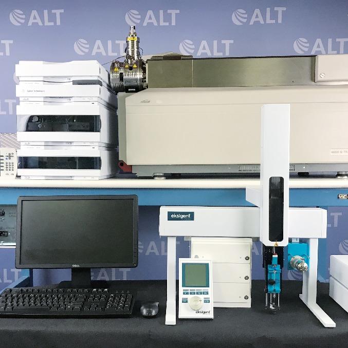 AB Sciex 4000 Q Trap LC/MS/MS System Image
