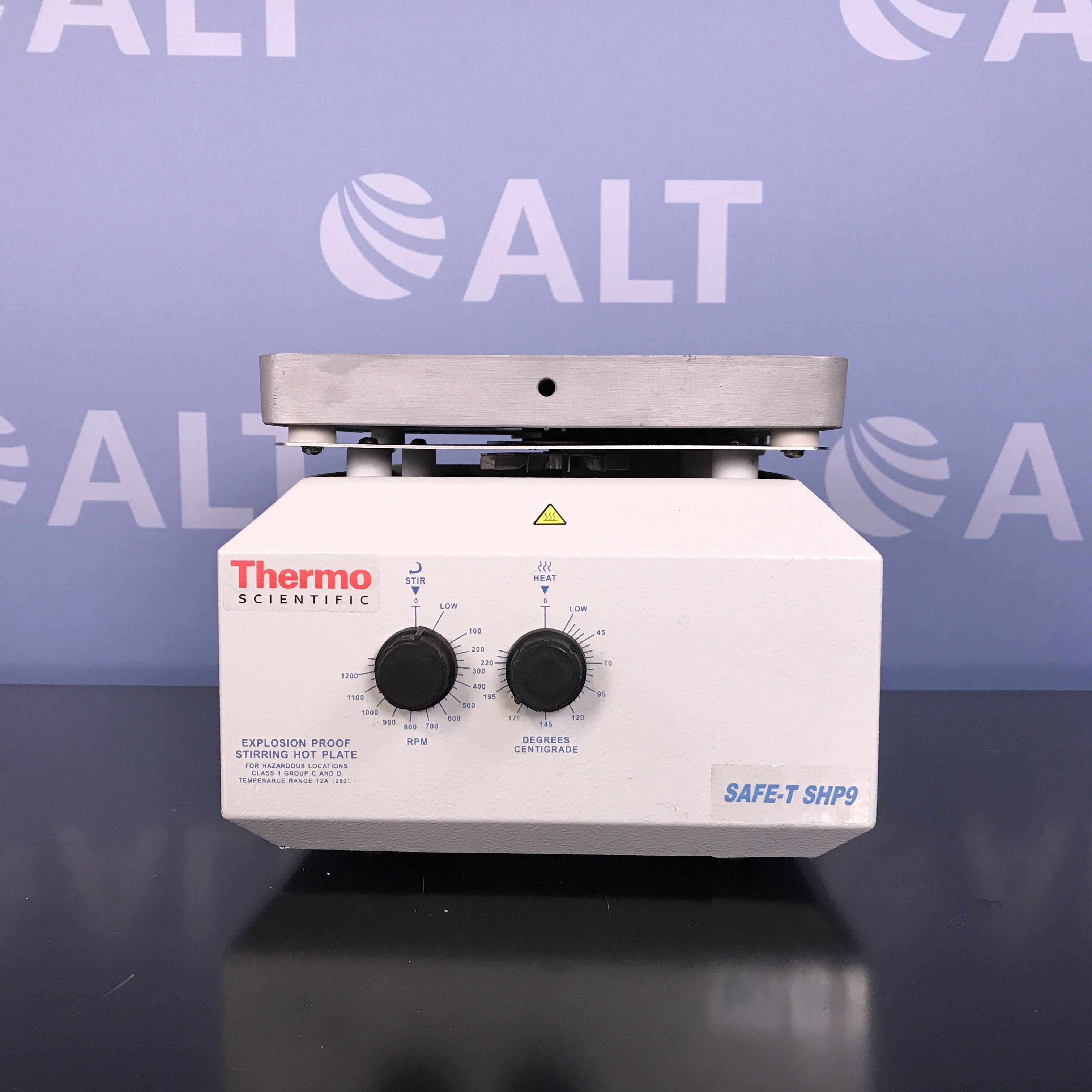 Thermo Scientific Explosion-Proof SAFE-TSHP9 Stirring Hot Plate Image