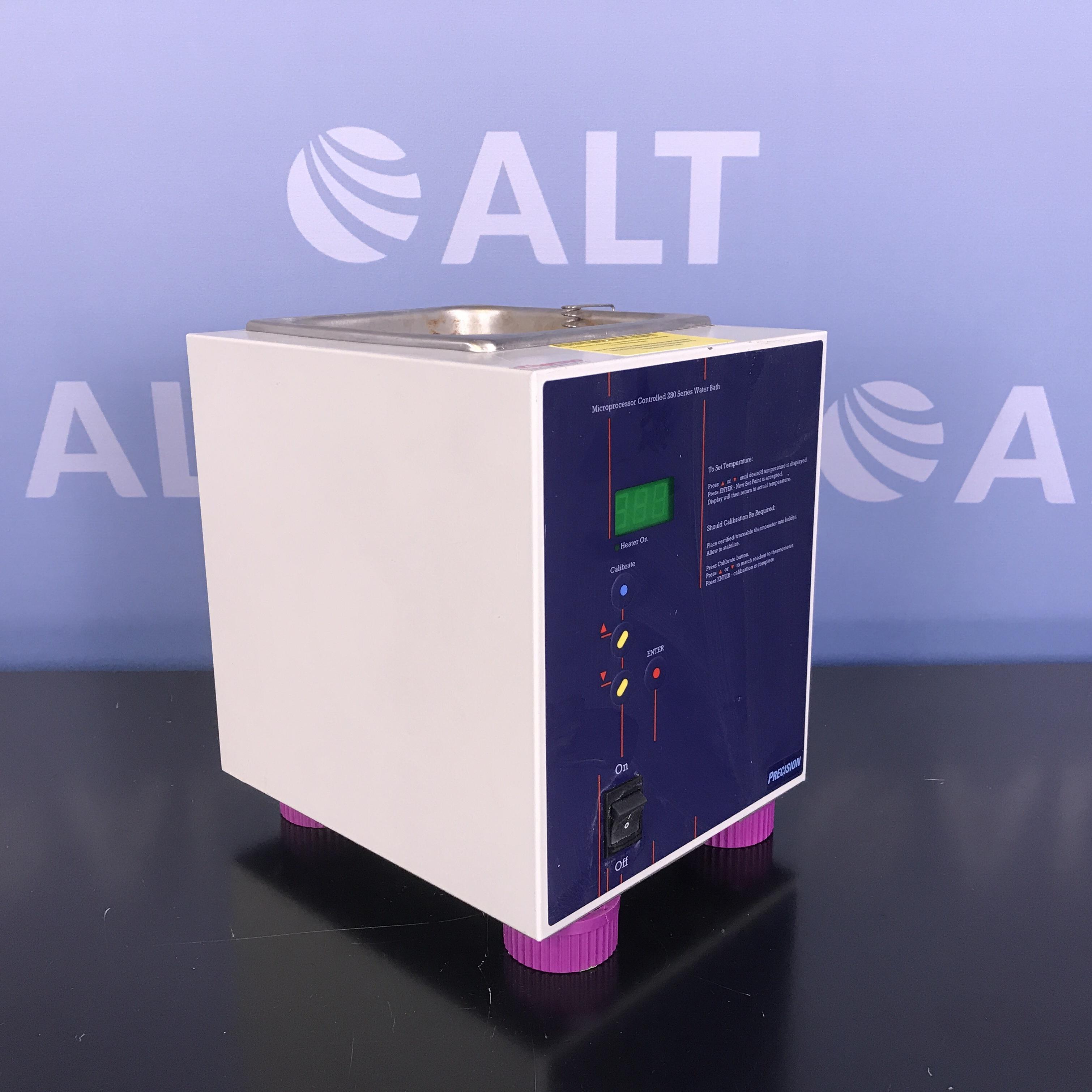 Thermo Scientific Precision Microprocessor Controlled 280 Series Water Bath Model 2829 Image