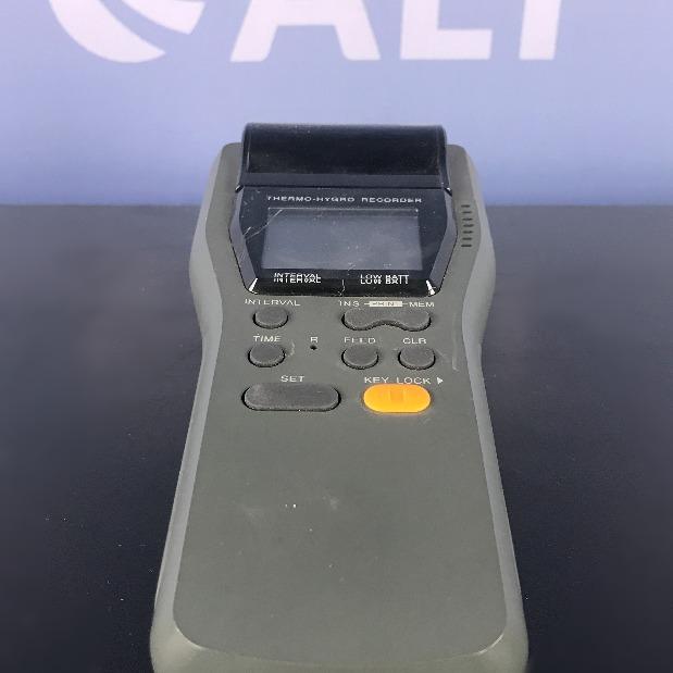 Thermo - Hygrometer Recorder Name