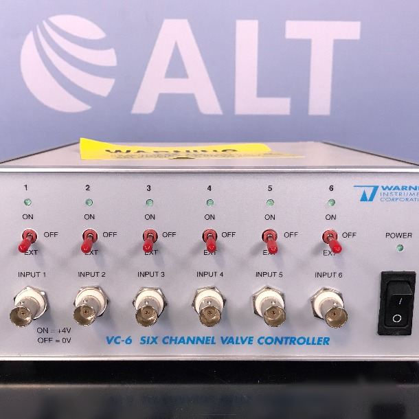 Warner Instruments VC-6 Six Channel Perfusion Valve Control System Image