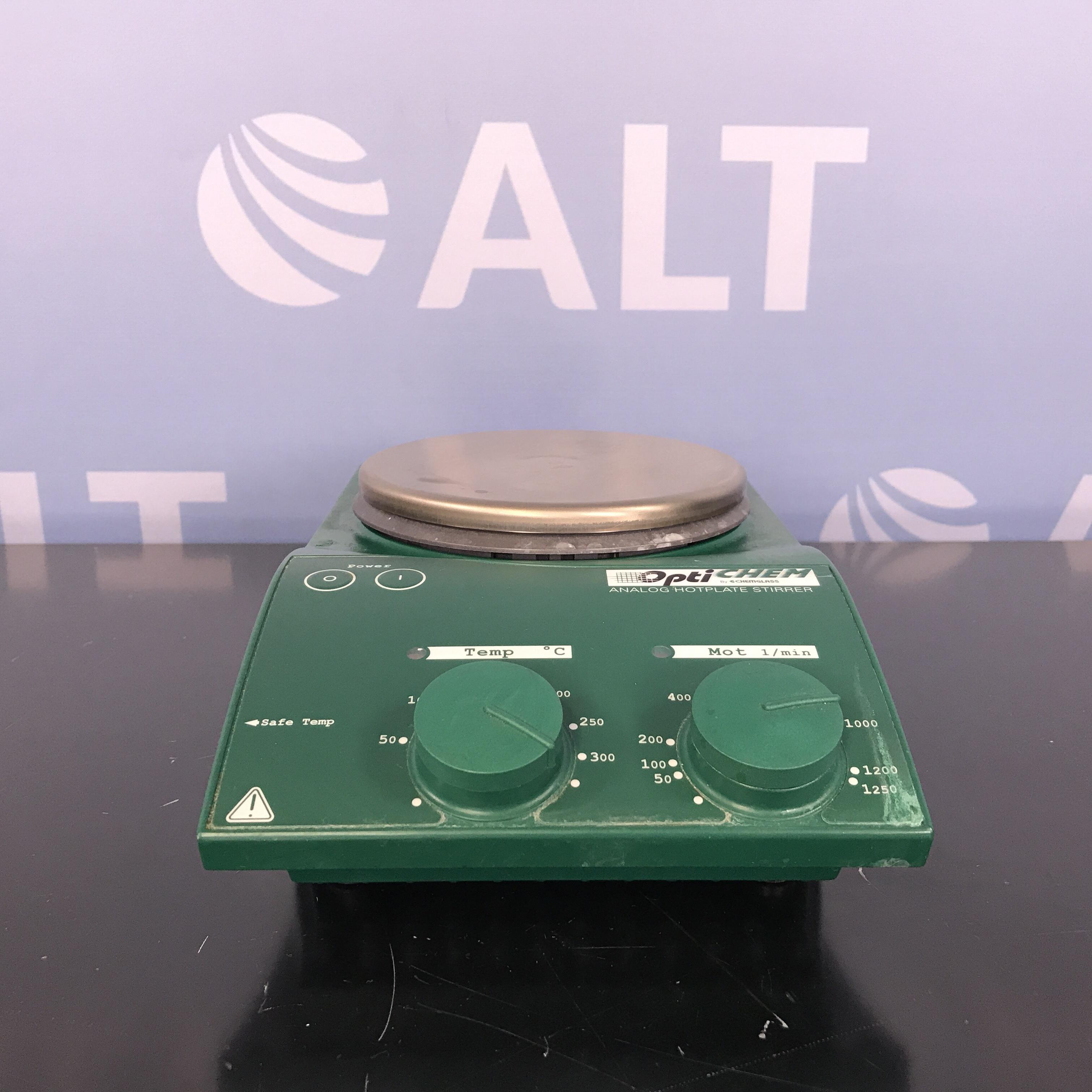MST Basic S21 Optichem Hotplate Stirrer Name
