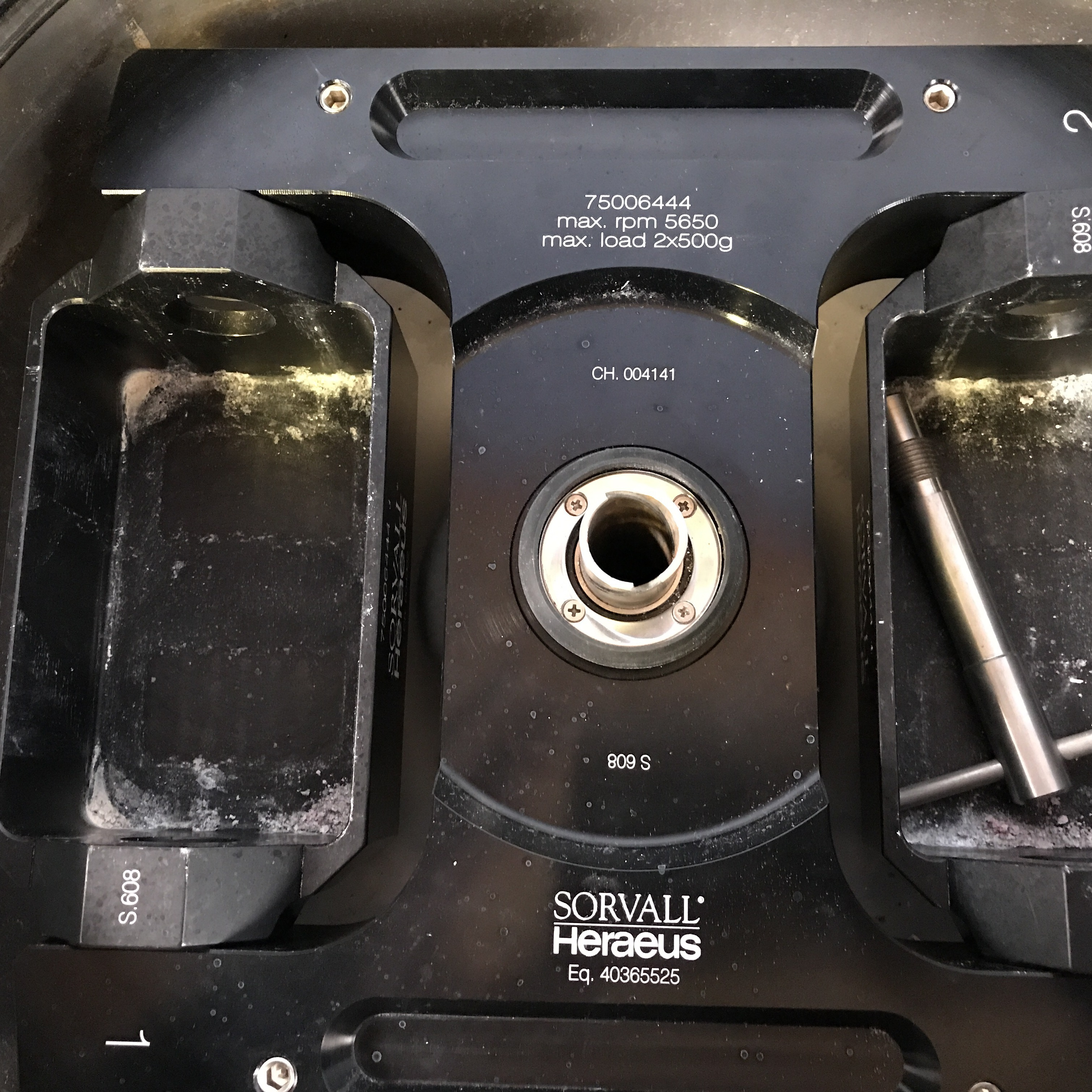 Sorvall Heraeus HighPlate Swinging Bucket Rotor P/N 75006444  Image
