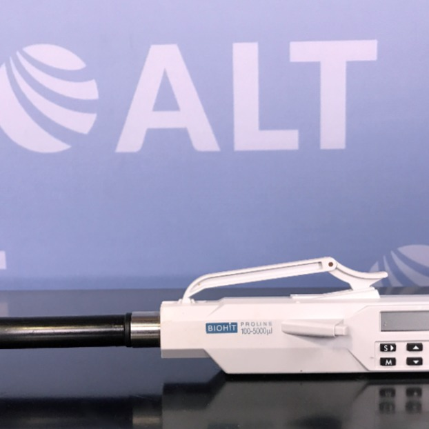 BioHit Proline Single Channel Electronic Pipette 100-5000 uL Image