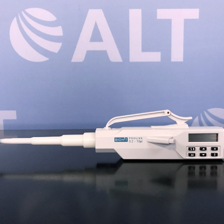 BioHit Single Channel Electronic Pipette 0.2-10 uL Image