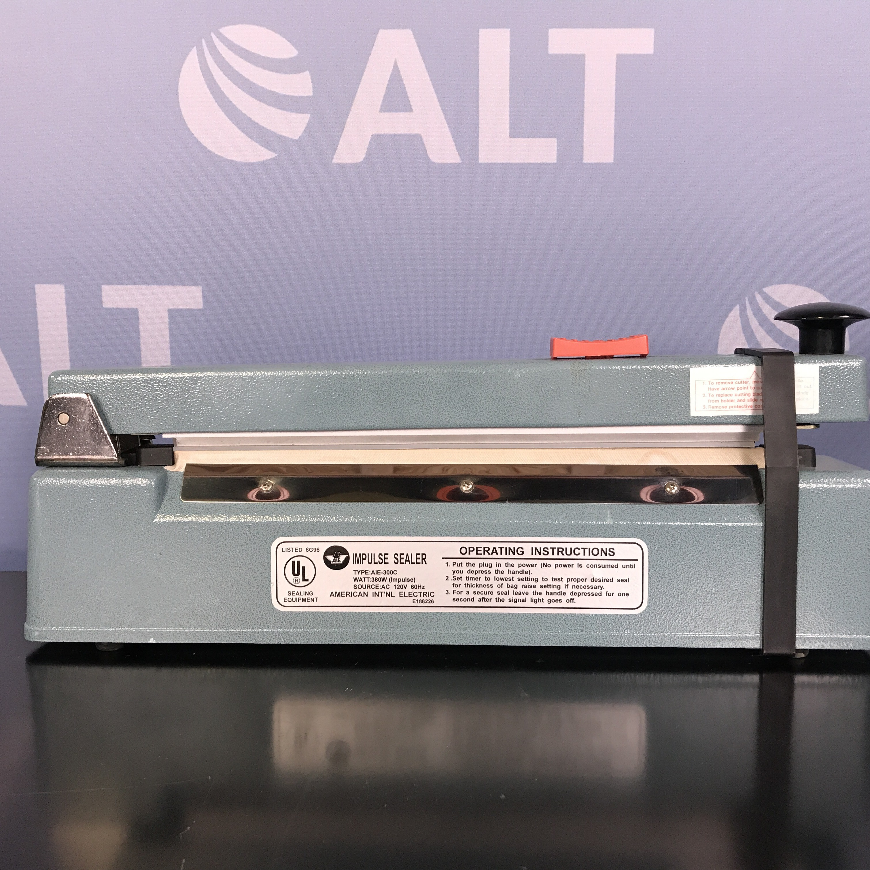 AIE-300C Impulse Sealer  Name