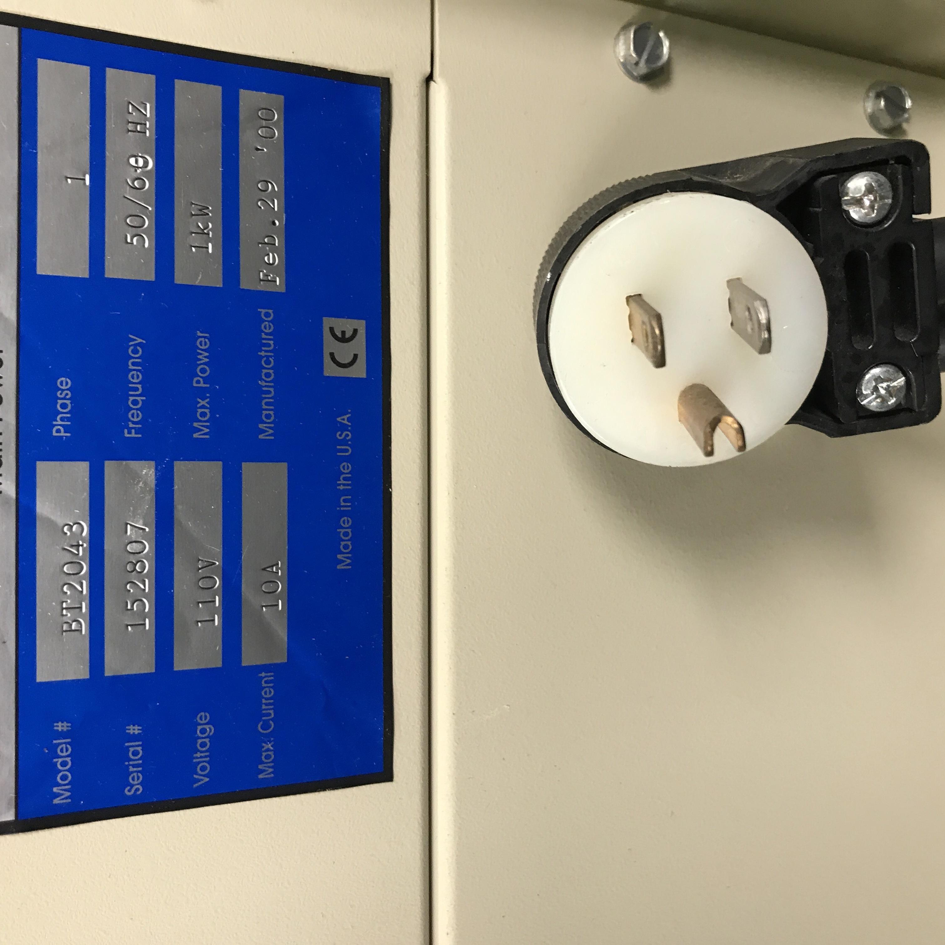Arbin Instruments BT-2043 Battery Test System Image