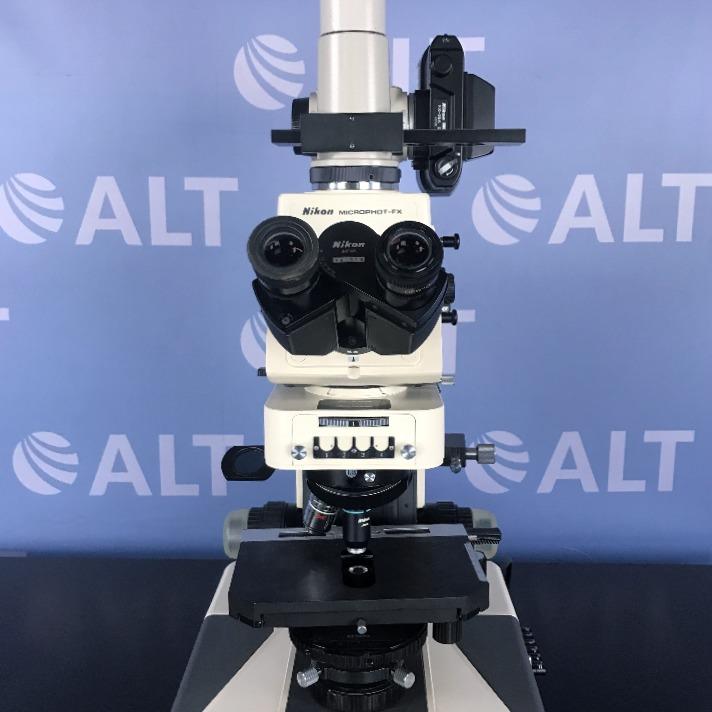 Nikon Microphot FX Microscope Image