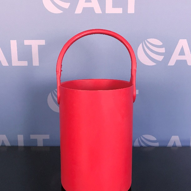 Refurbished Spectrum Chemical Safety Bottle Tote Carrier Red