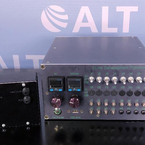 ALine ADEPT 8 Channel Microfluidics Pneumatic Controller Image