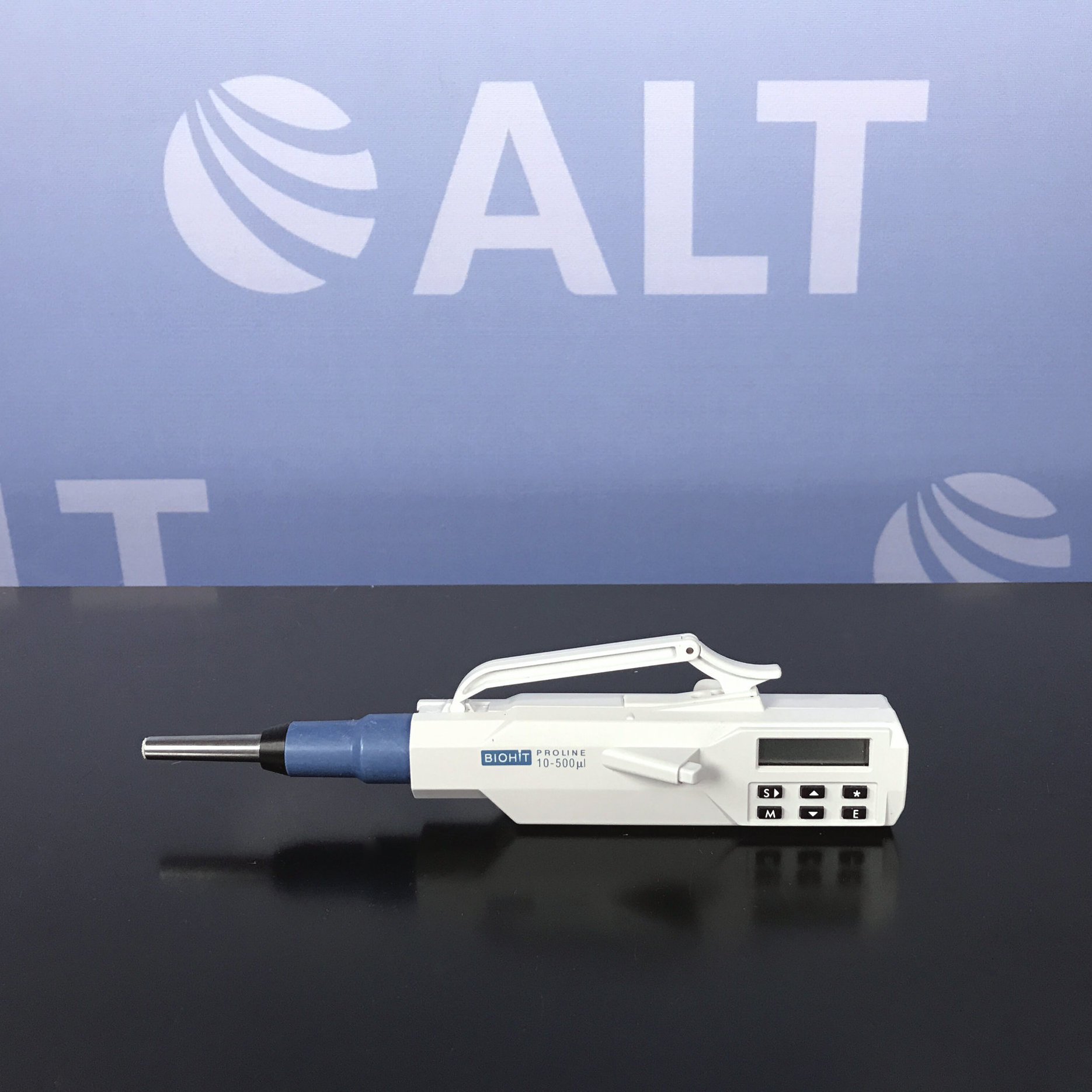 BioHit Proline Single Channel Electronic Pipette 10-500 uL Image