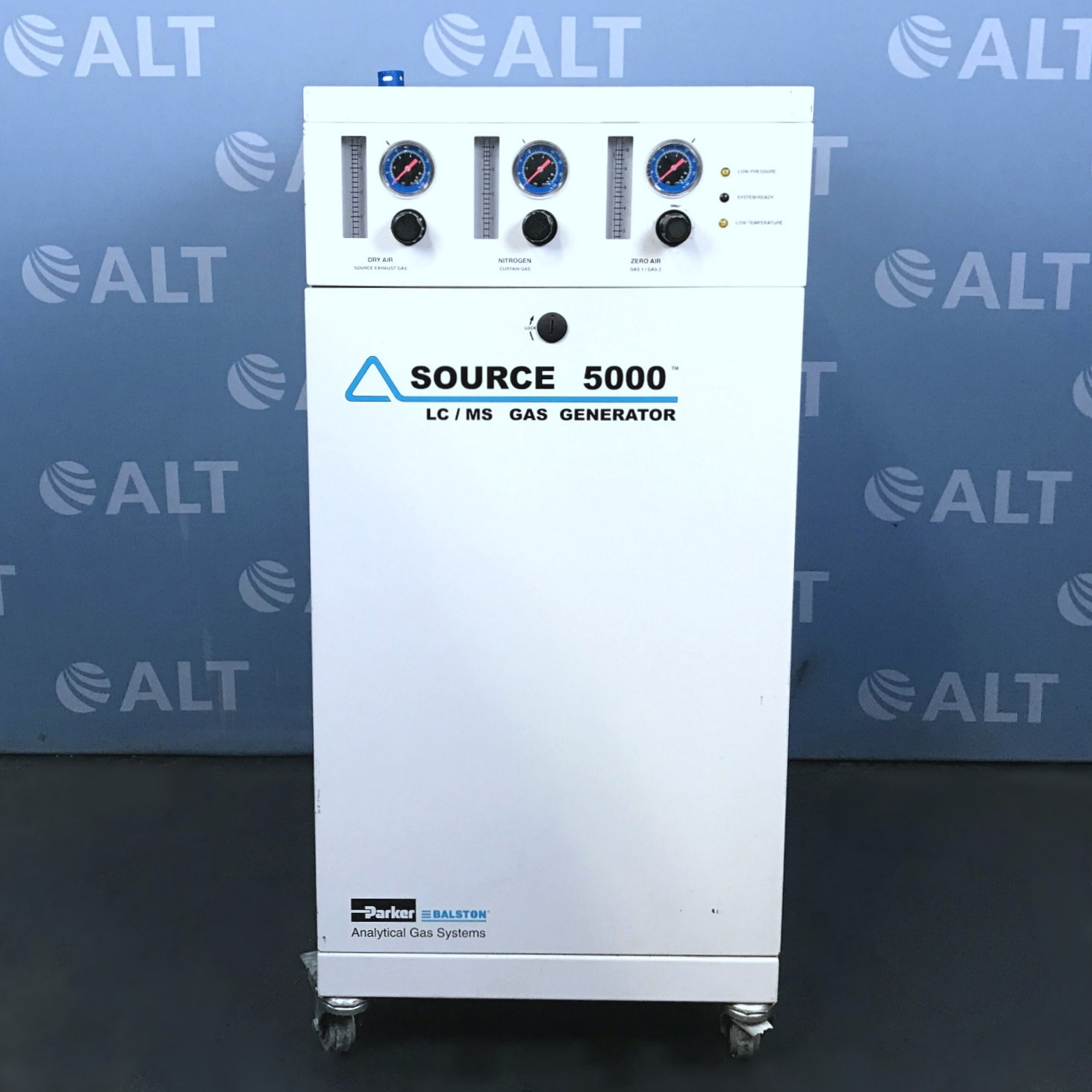 SOURCE LCMS-5000NA TriGas Generator Name