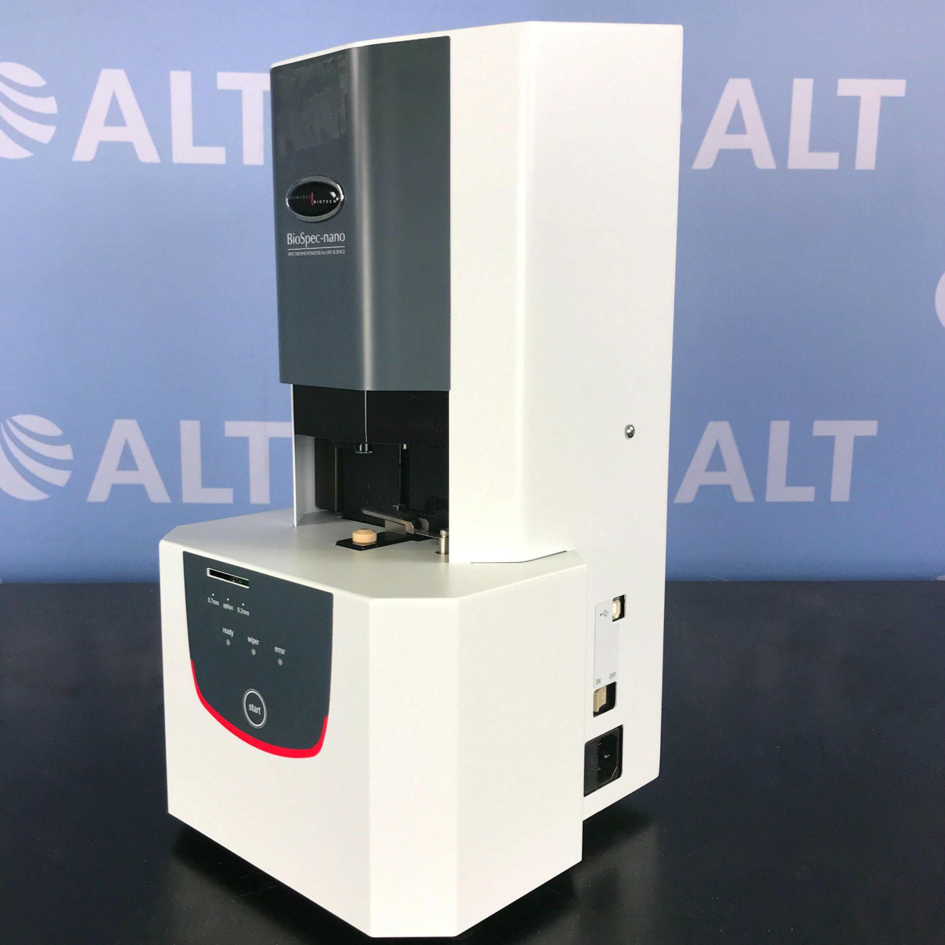 Shimadzu Biospec-Nano Spectrophotometer Image
