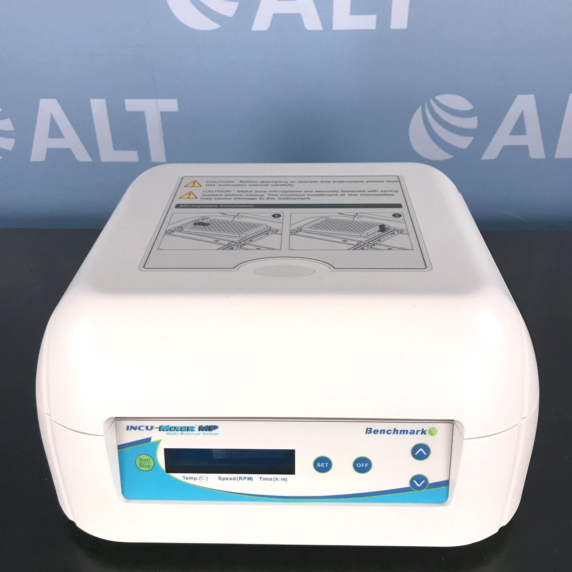 Benchmark Scientific Incu-Mixer MP Heated Microplate Vortexer Image
