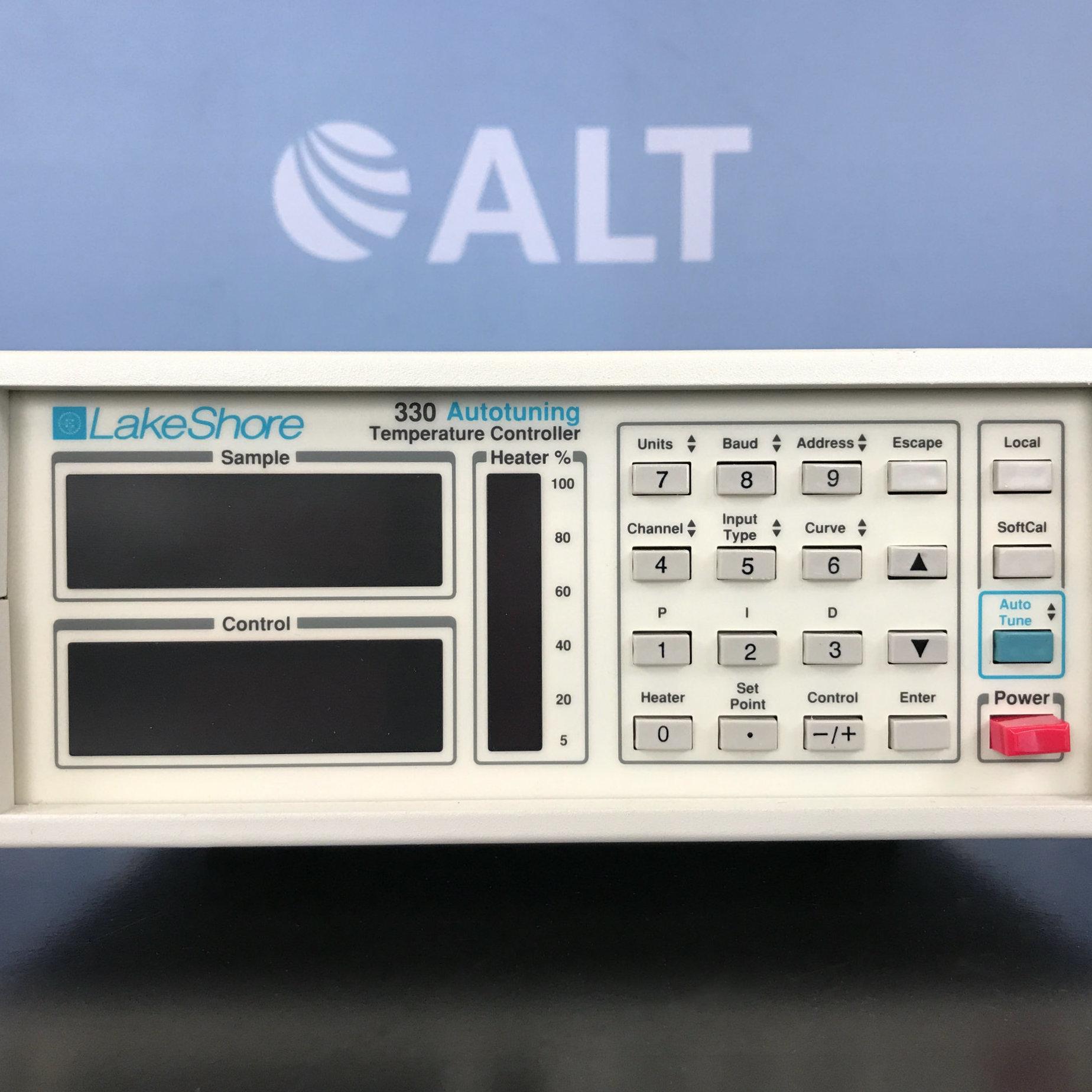 LakeShore Cryotronics 330 Autotuning Temperature Controller Image