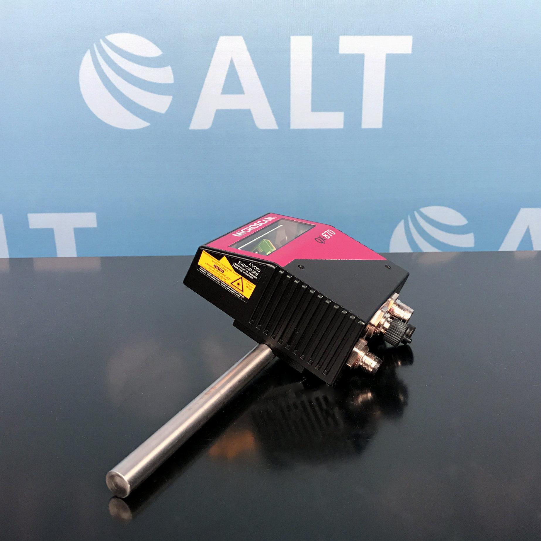Microscan QX-870 Industrial Raster Laser Scanner Image