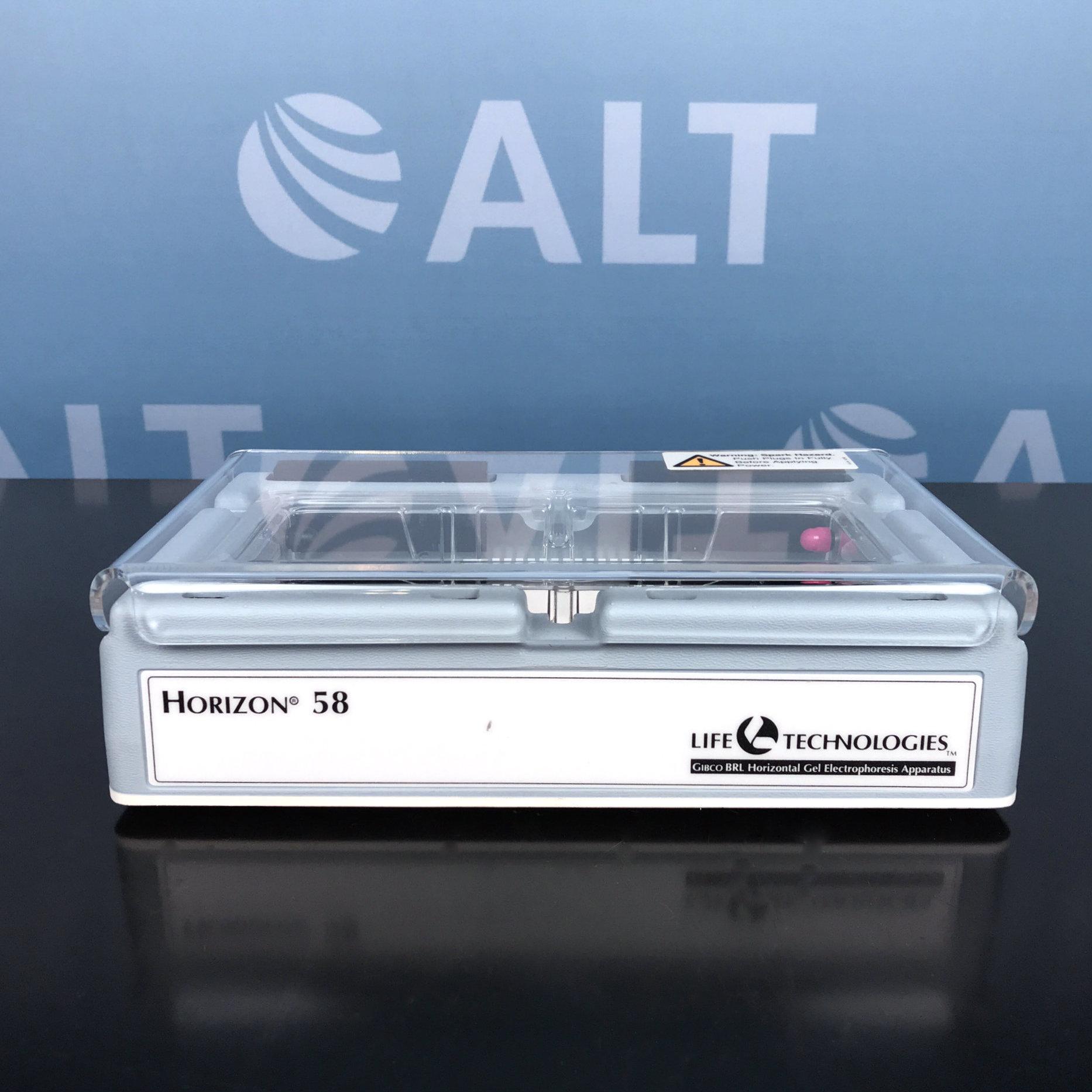 BRL/Life Technologies Horizon 58 Horizontal Gel Electrophoresis System Image