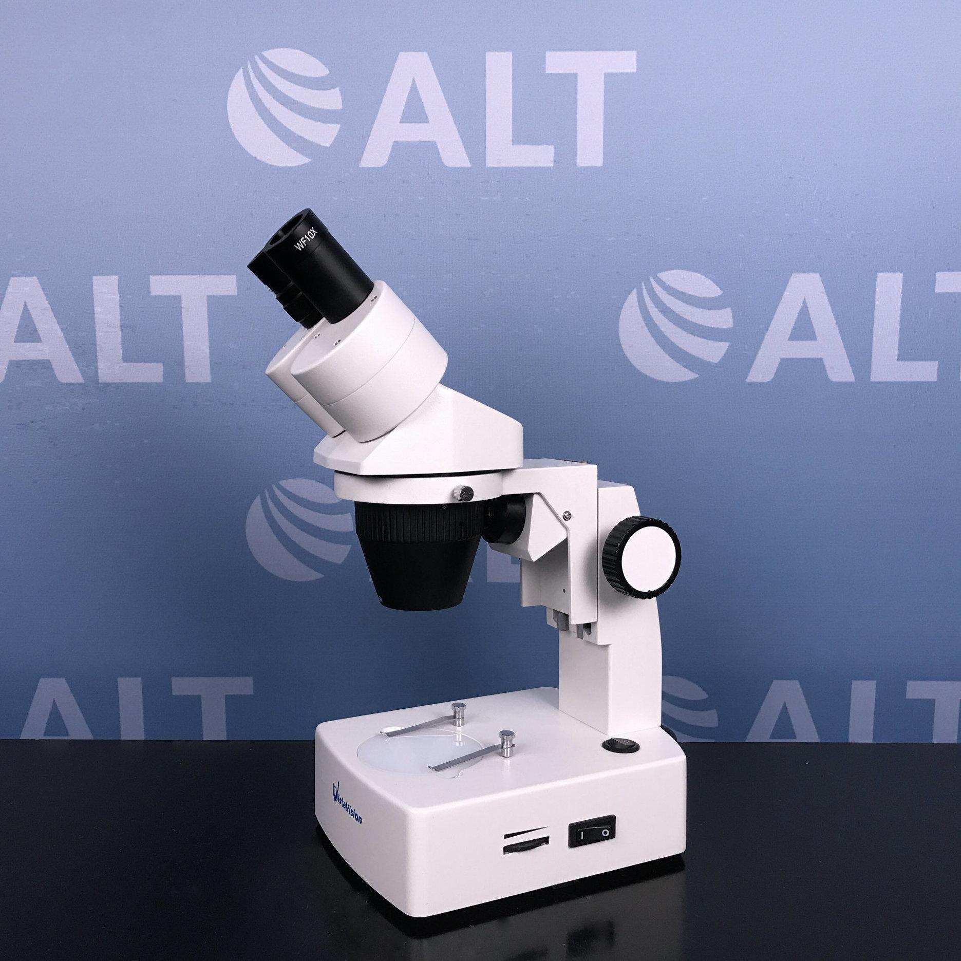VWR VistaVision Stereo Basic Halogen - Fluorescent 2X - 4X Microscope Image