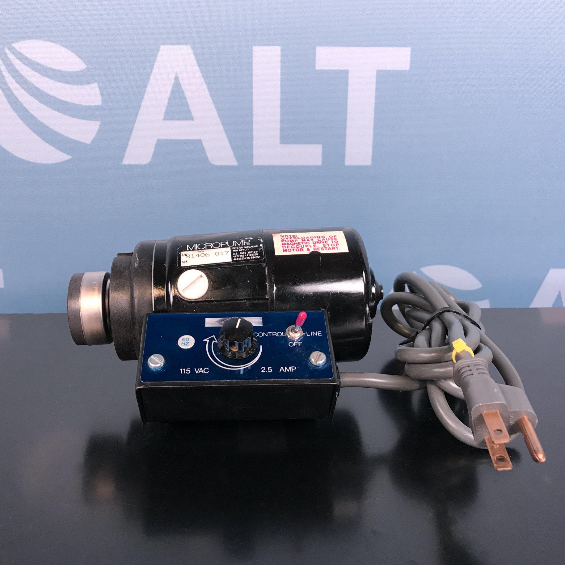 Micropump Model 12286-115-R168 Image