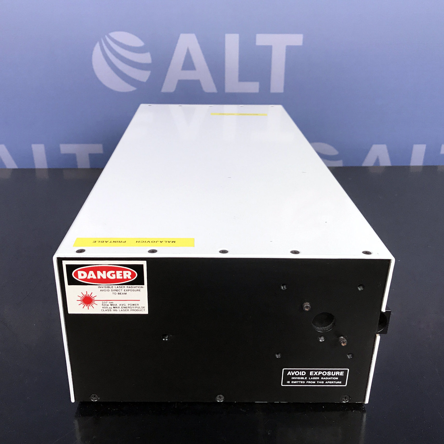 Laser Science VSL-337ND-S Pulsed UV, Air-Cooled, Nitrogen Laser System Name
