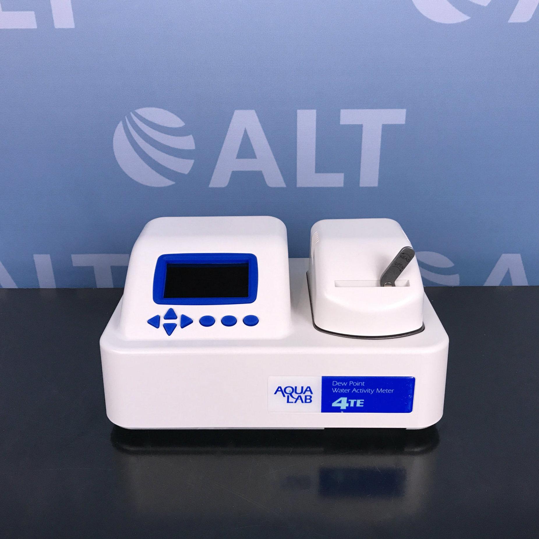 Aqualab 4te Dew Point Water Activity Meter