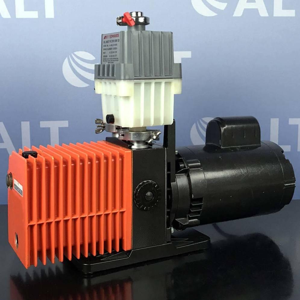 Alcatel 2008A Dual Stage Rotary Vane Vacuum Pump Image