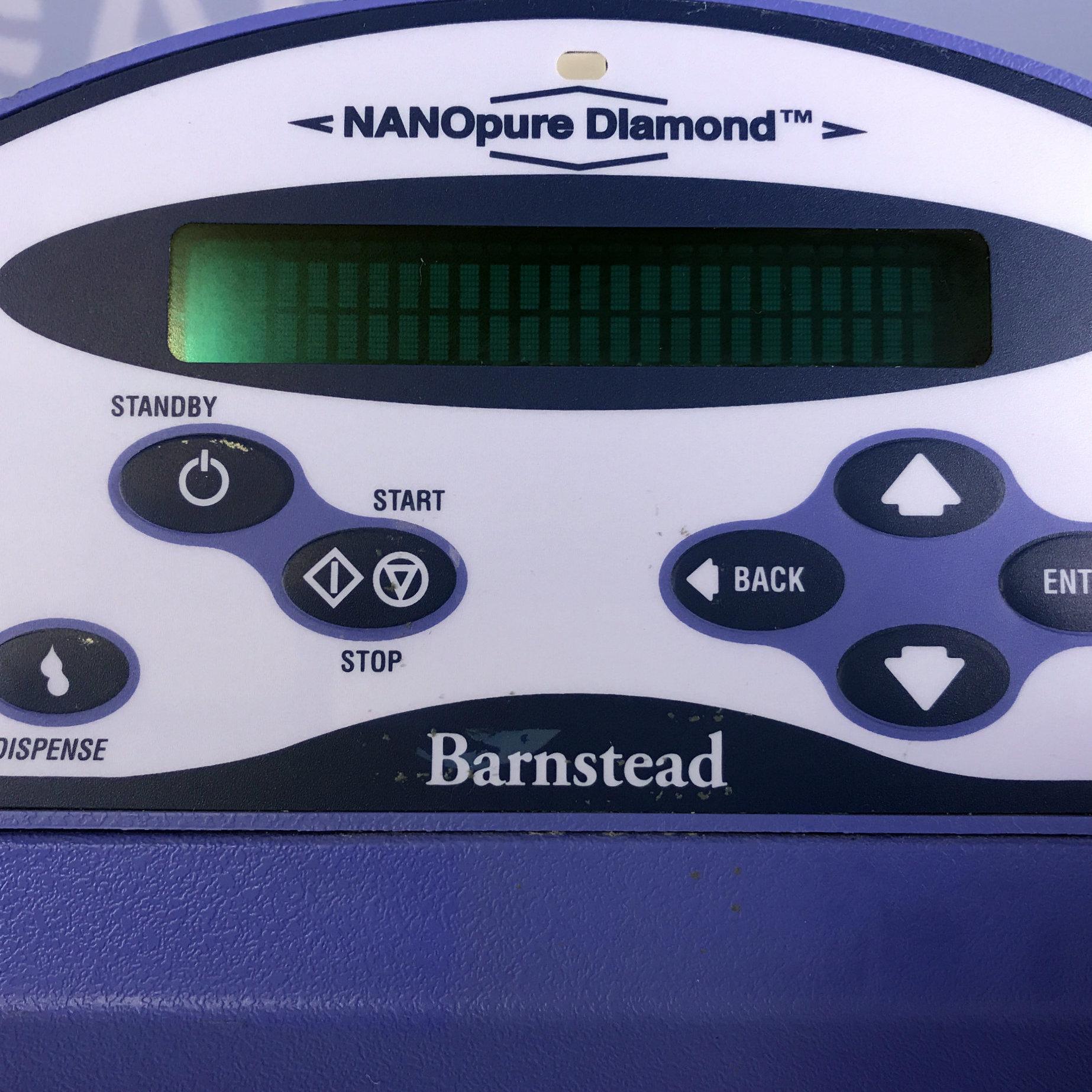 Barnstead/Thermolyne Nanopure Diamond Water Purification System, Model D11931 Image