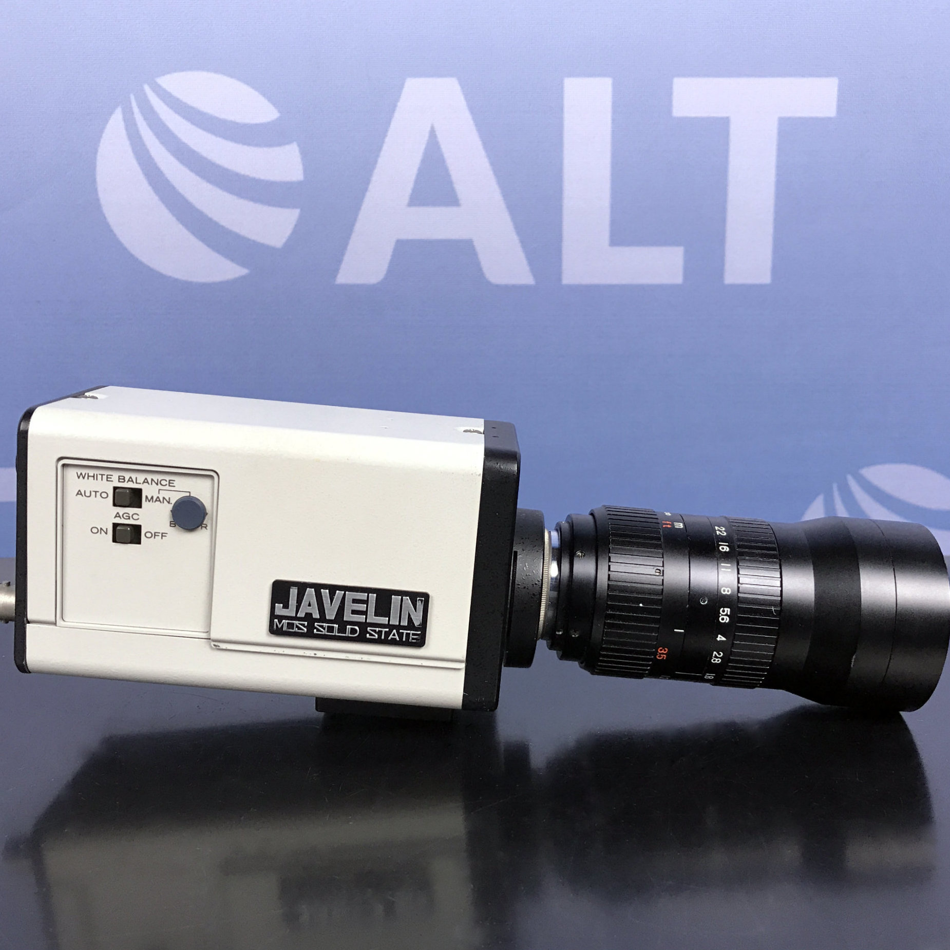 Javelin Electronics JE3462RGB Color CCTV Camera With Fujinon-TV 1:18/75 Image