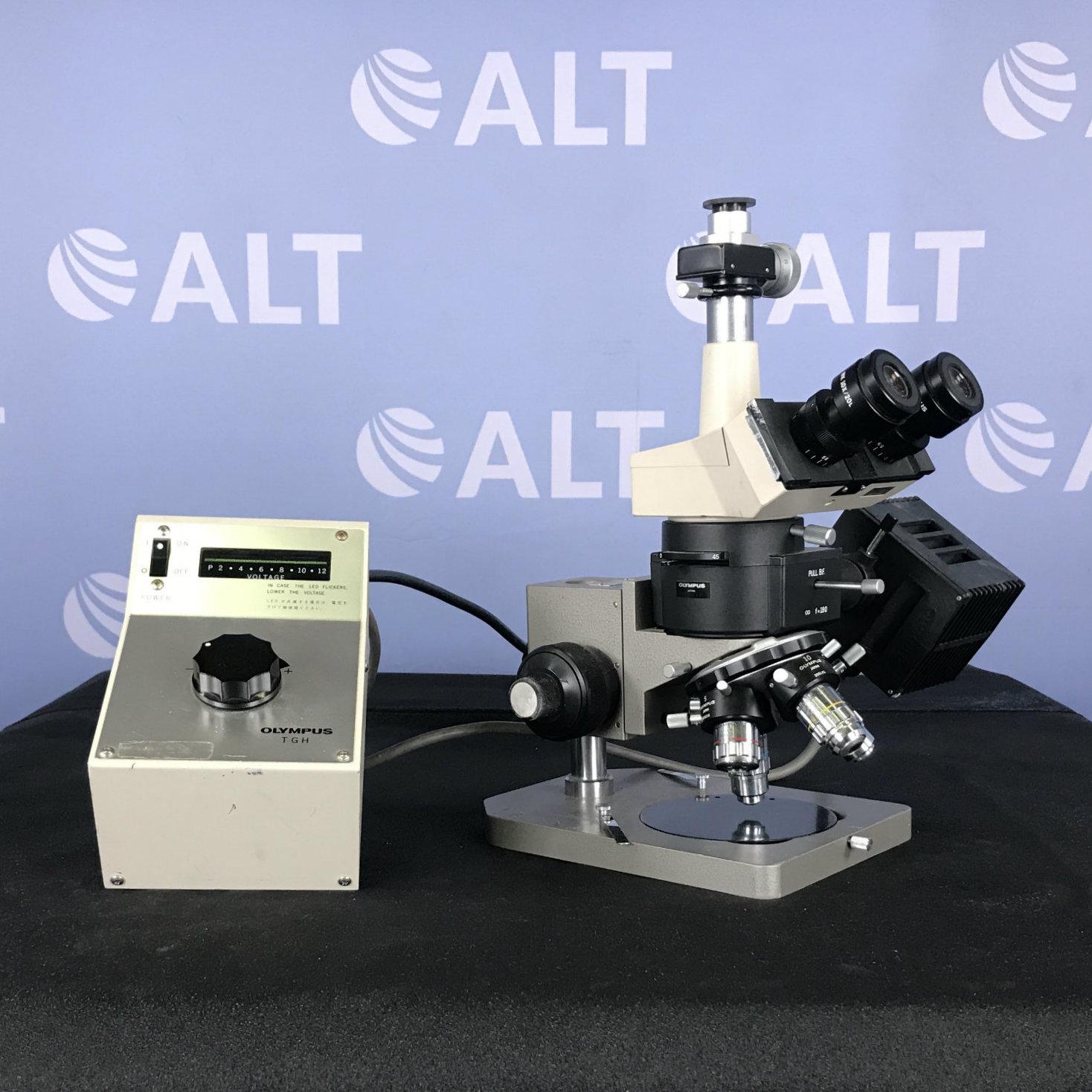 Olympus BHMJ Metallurgical Microscope Image