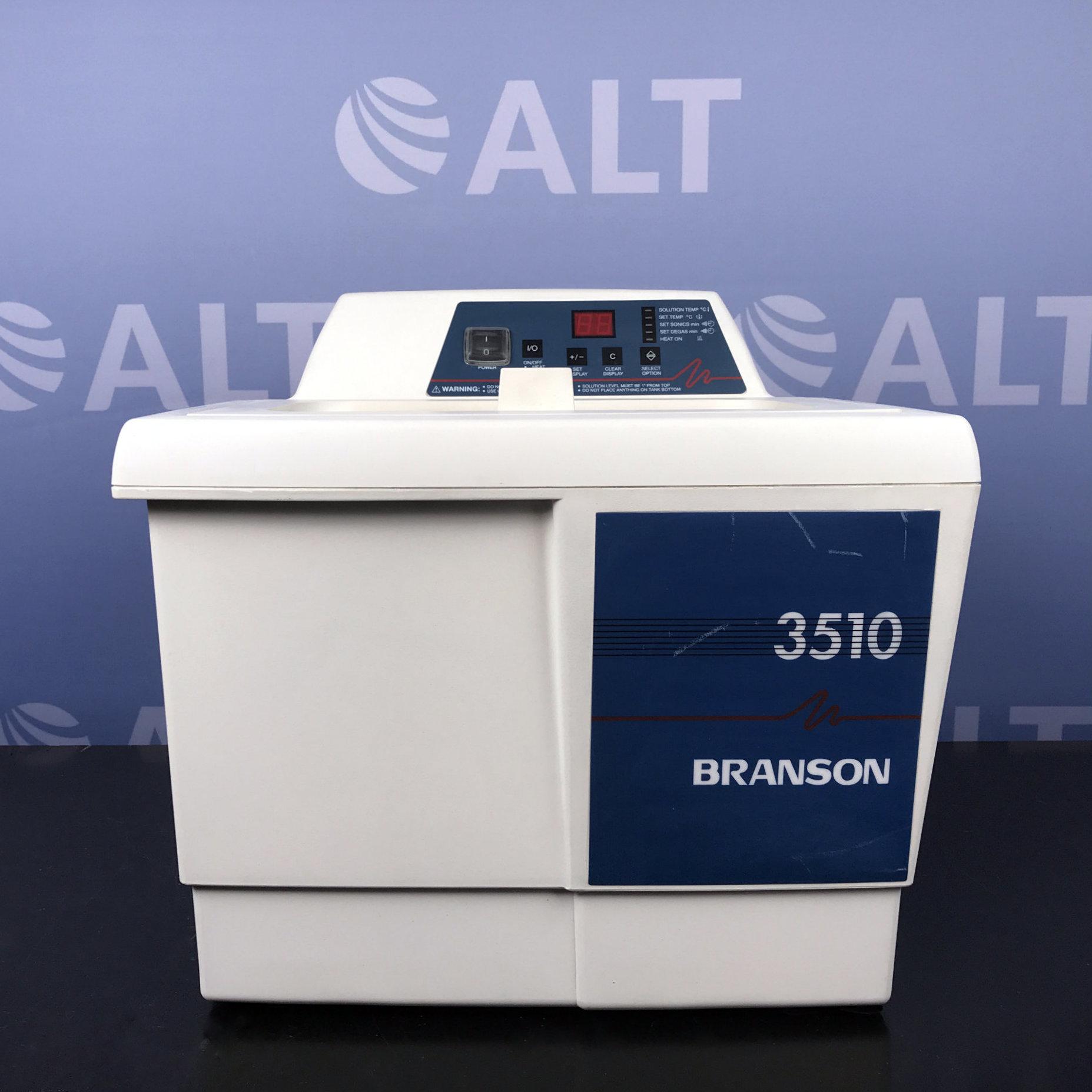 Branson 3510R-DTH Ultrasonic Cleaner Image
