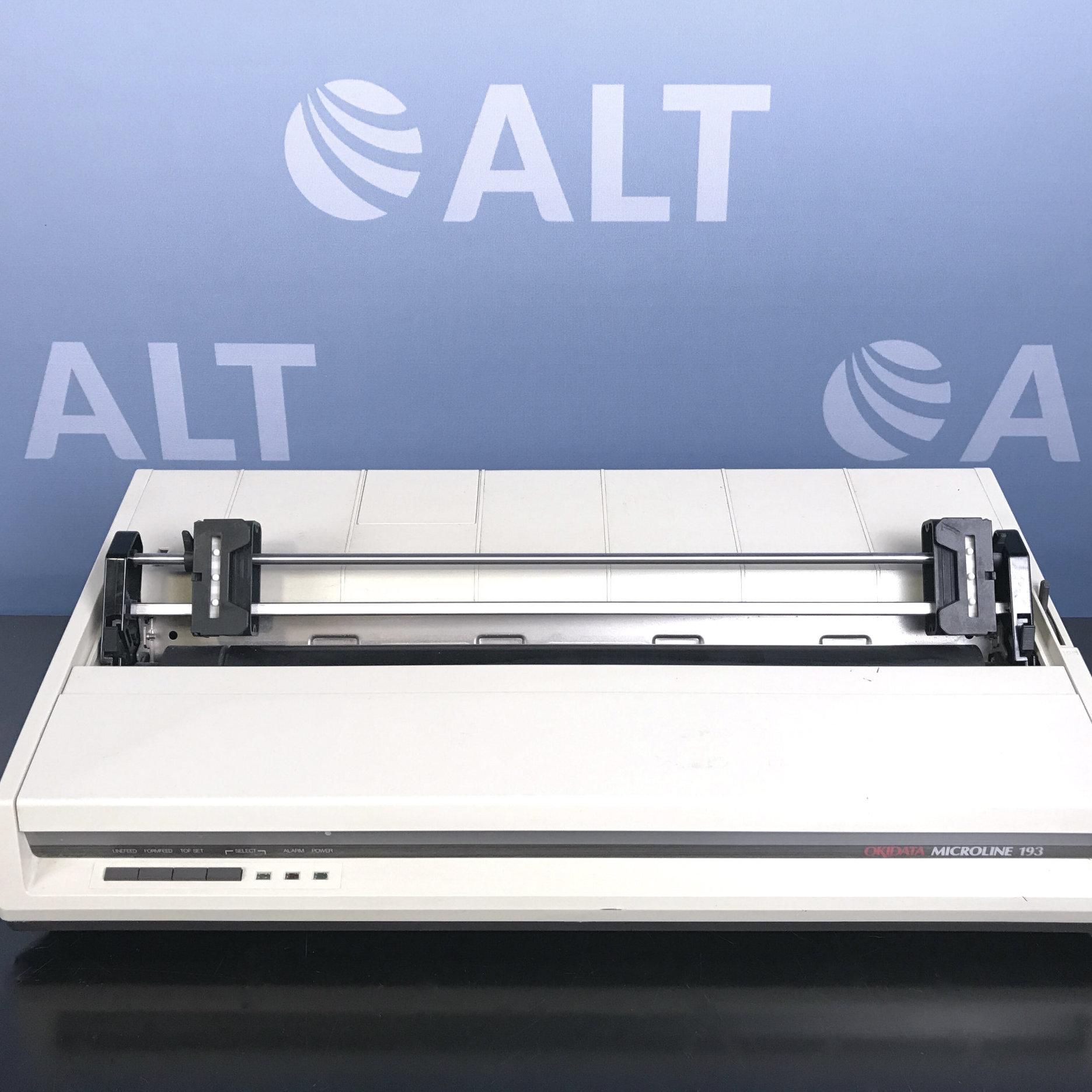 Okidata Microline 193 Printer Model:GE8251B  Image