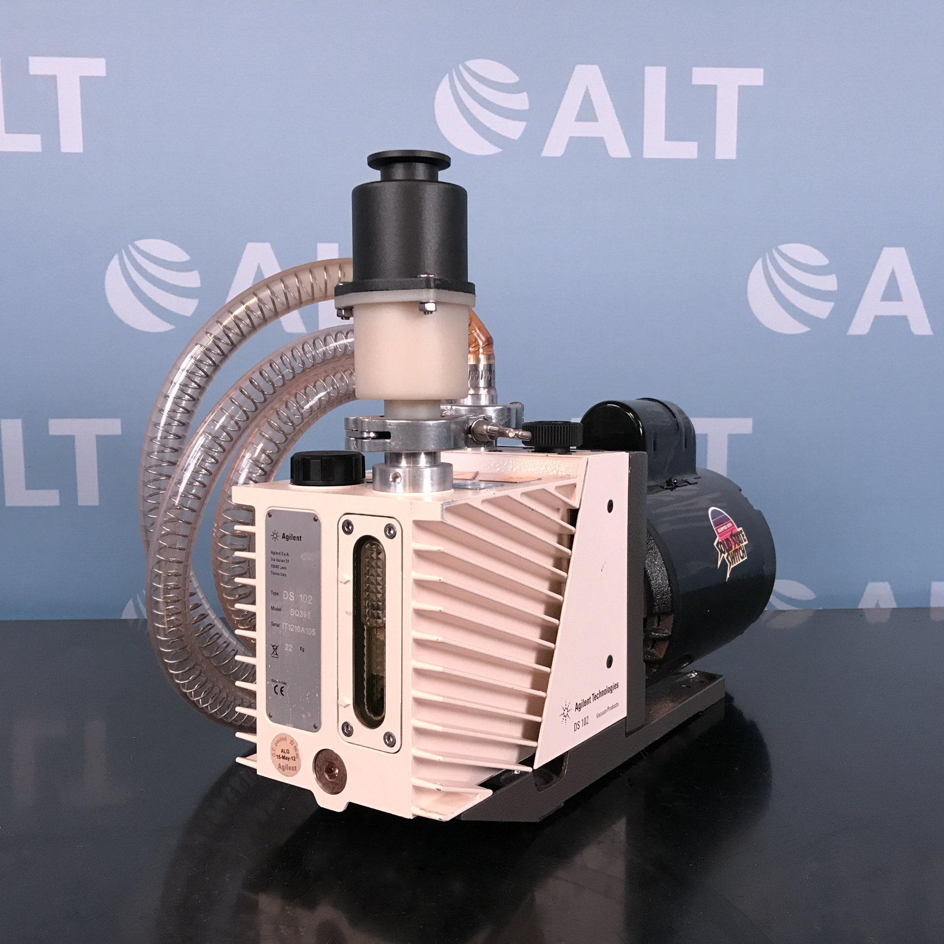 Agilent Technologies DS102 Rotary Vane Vacuum Pump Image