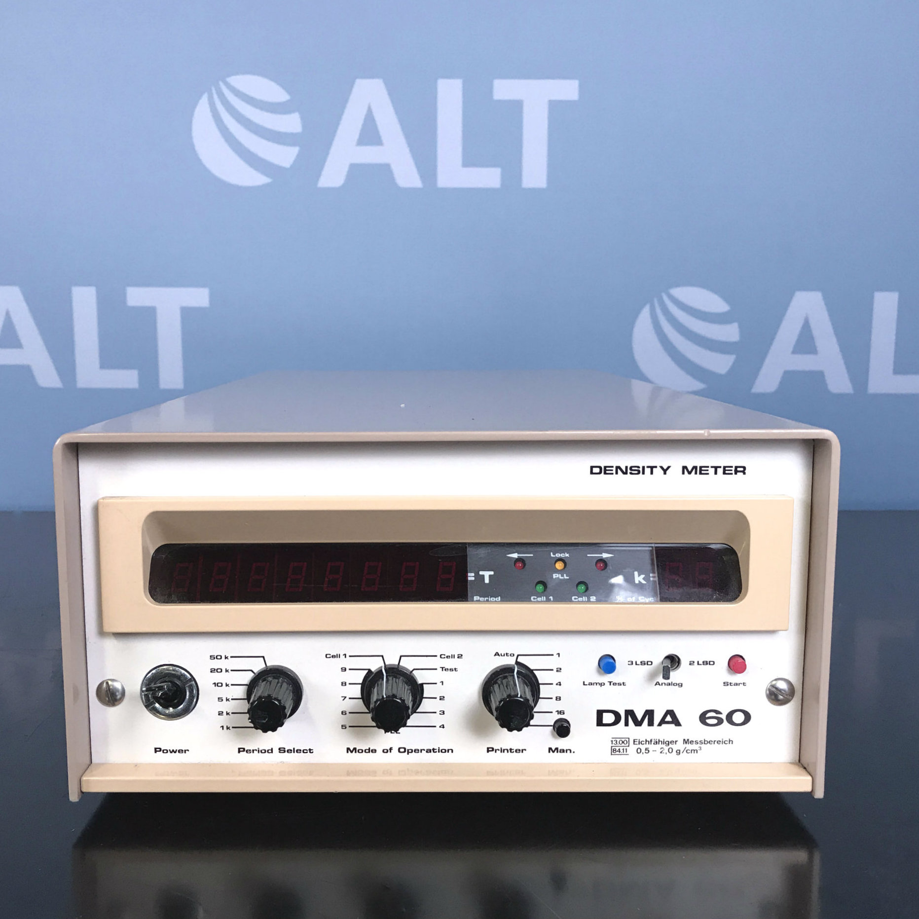 DMA 60 Density Meter Name