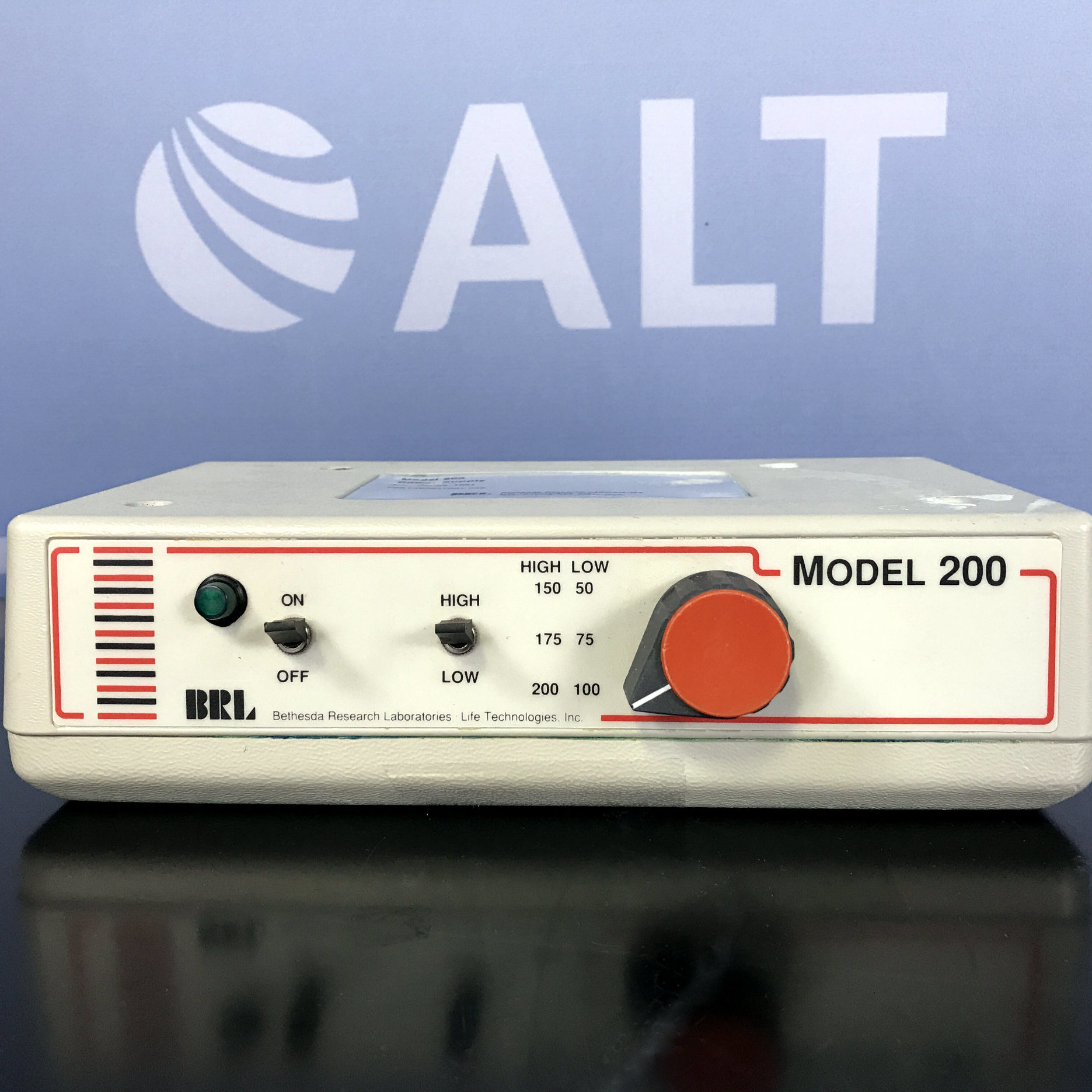 Model 200 Electrophoresis Power Supply Series 1061 Name