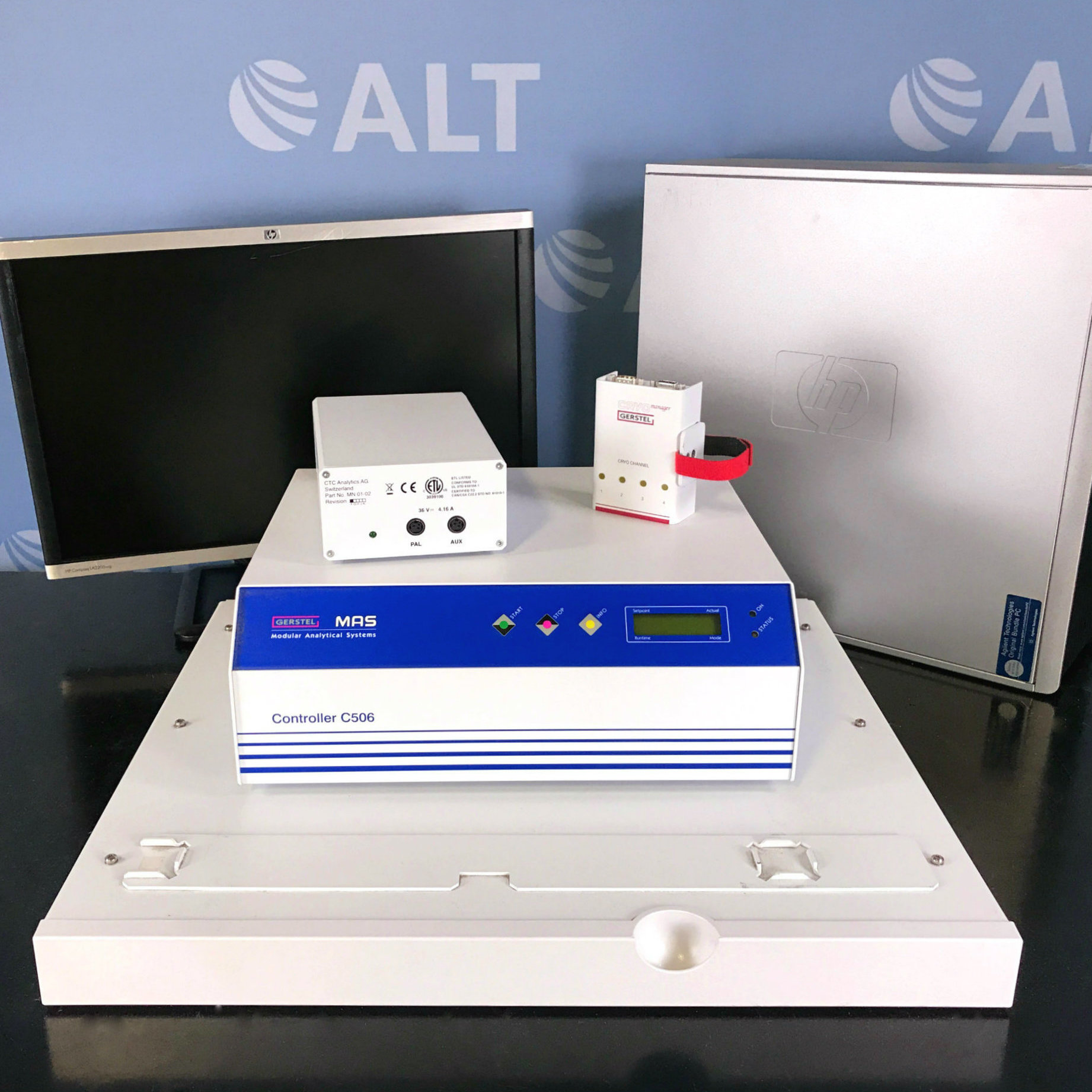 Agilent 7200 Series Q-TOF GC/MS with 7890A System Image