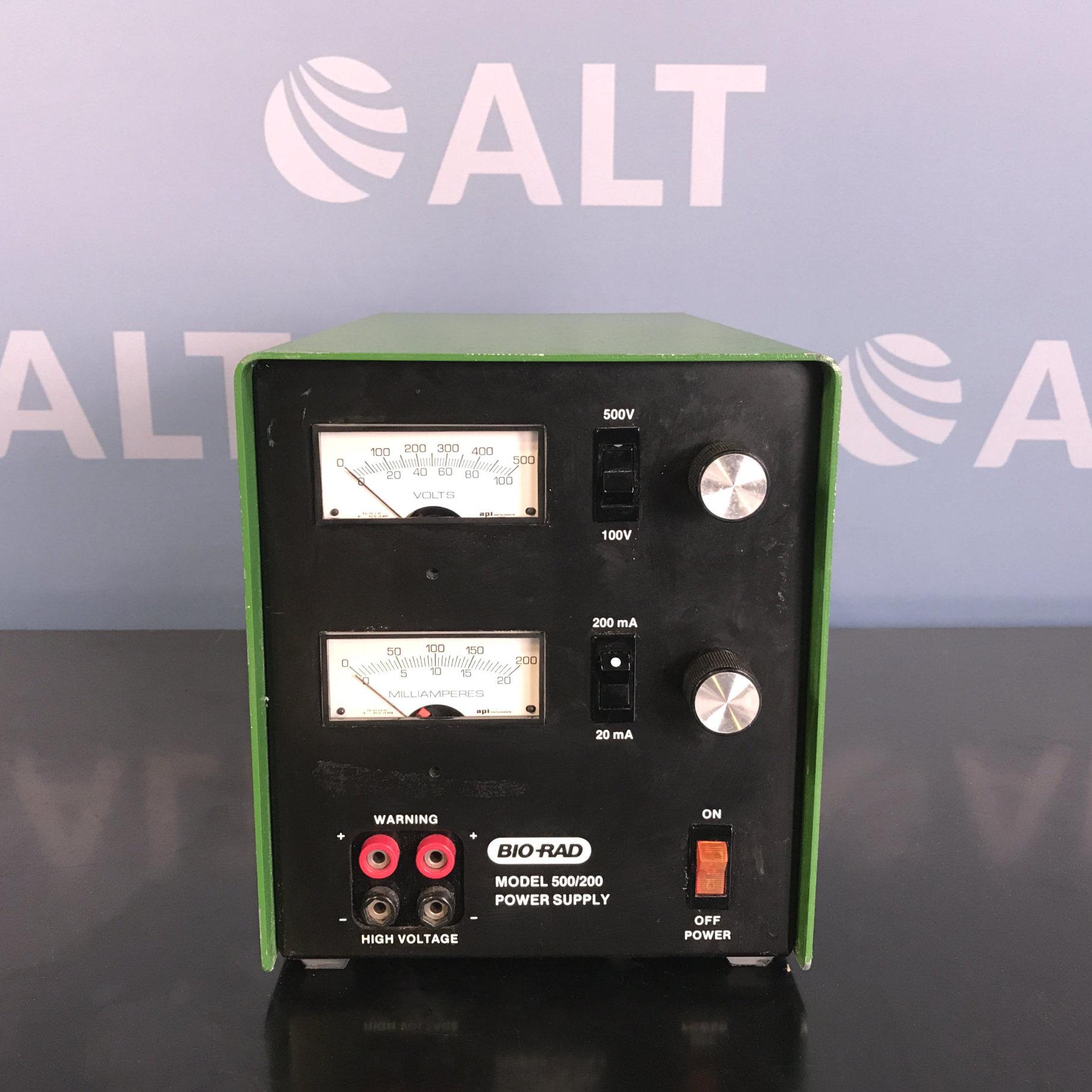 Model 500/200 Electrophoresis Power Supply Name