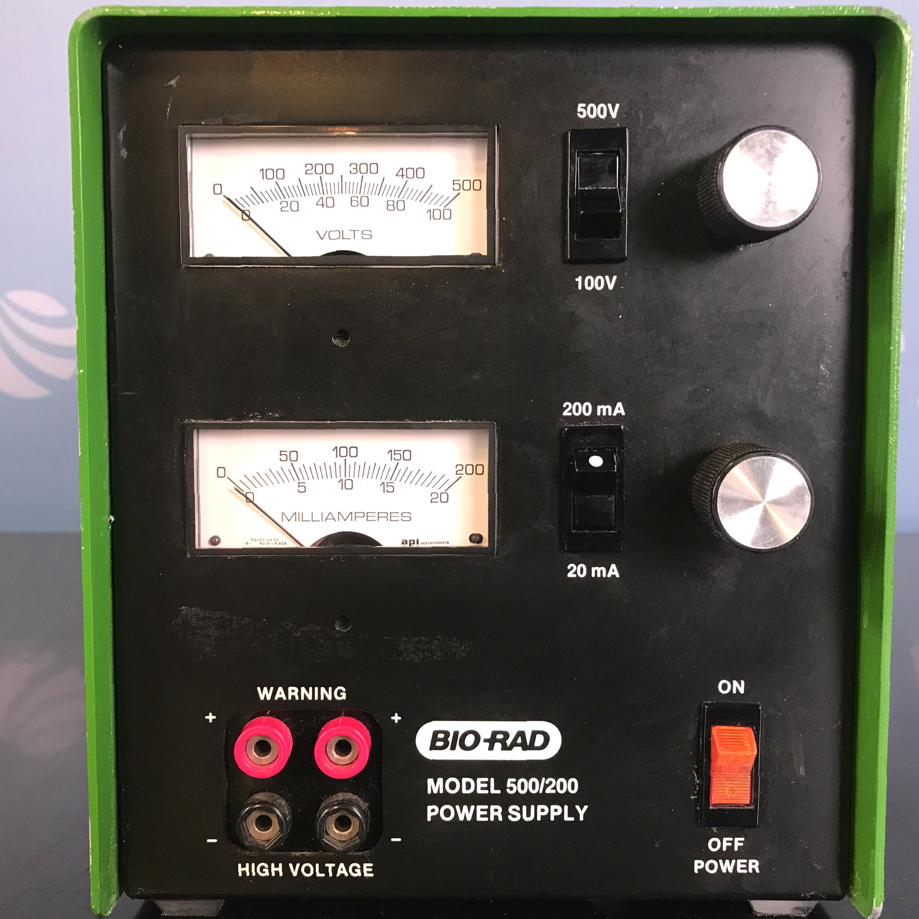 Bio-Rad Model 500/200 Electrophoresis Power Supply Image