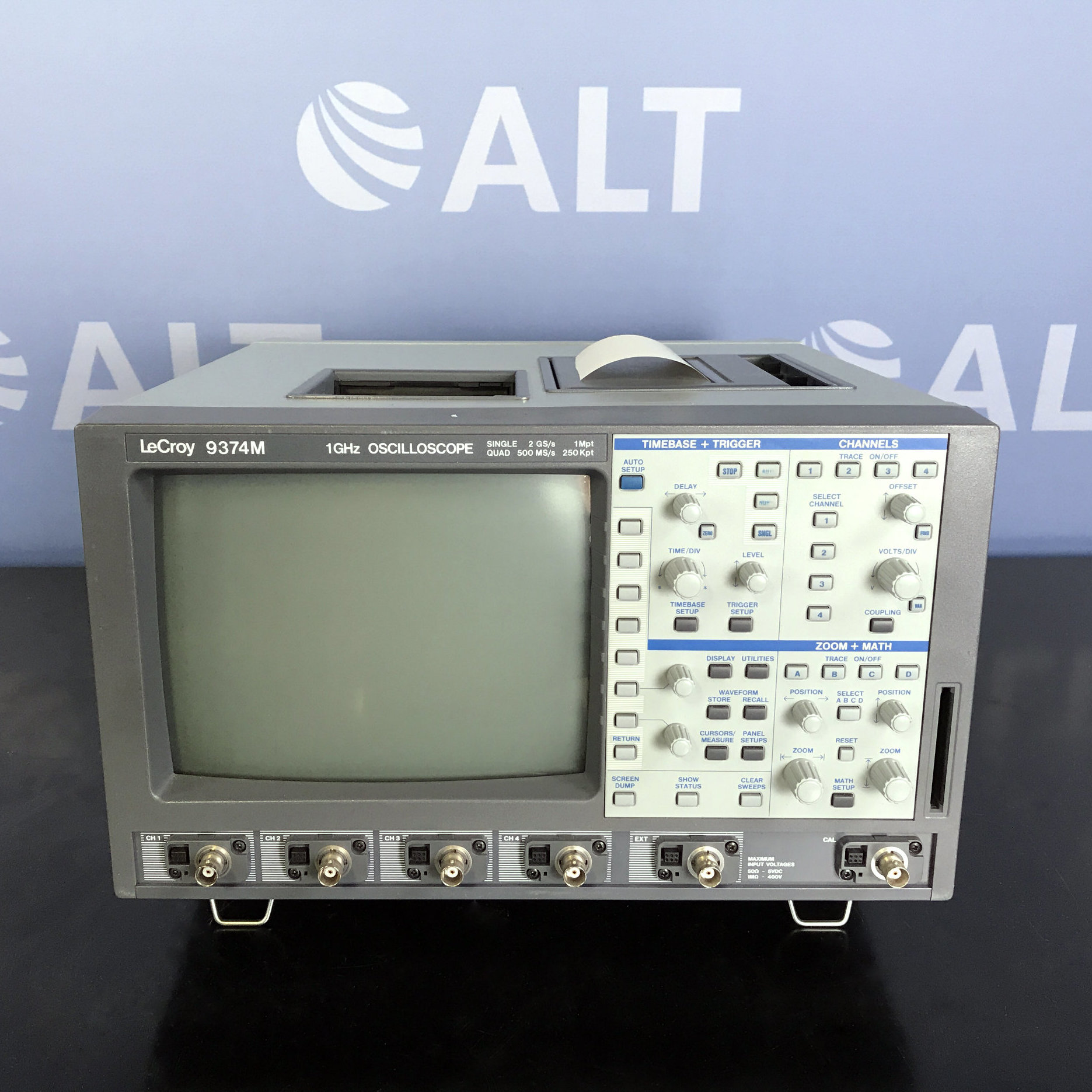 9374M 1GHz 4-Channel Oscilloscope Name