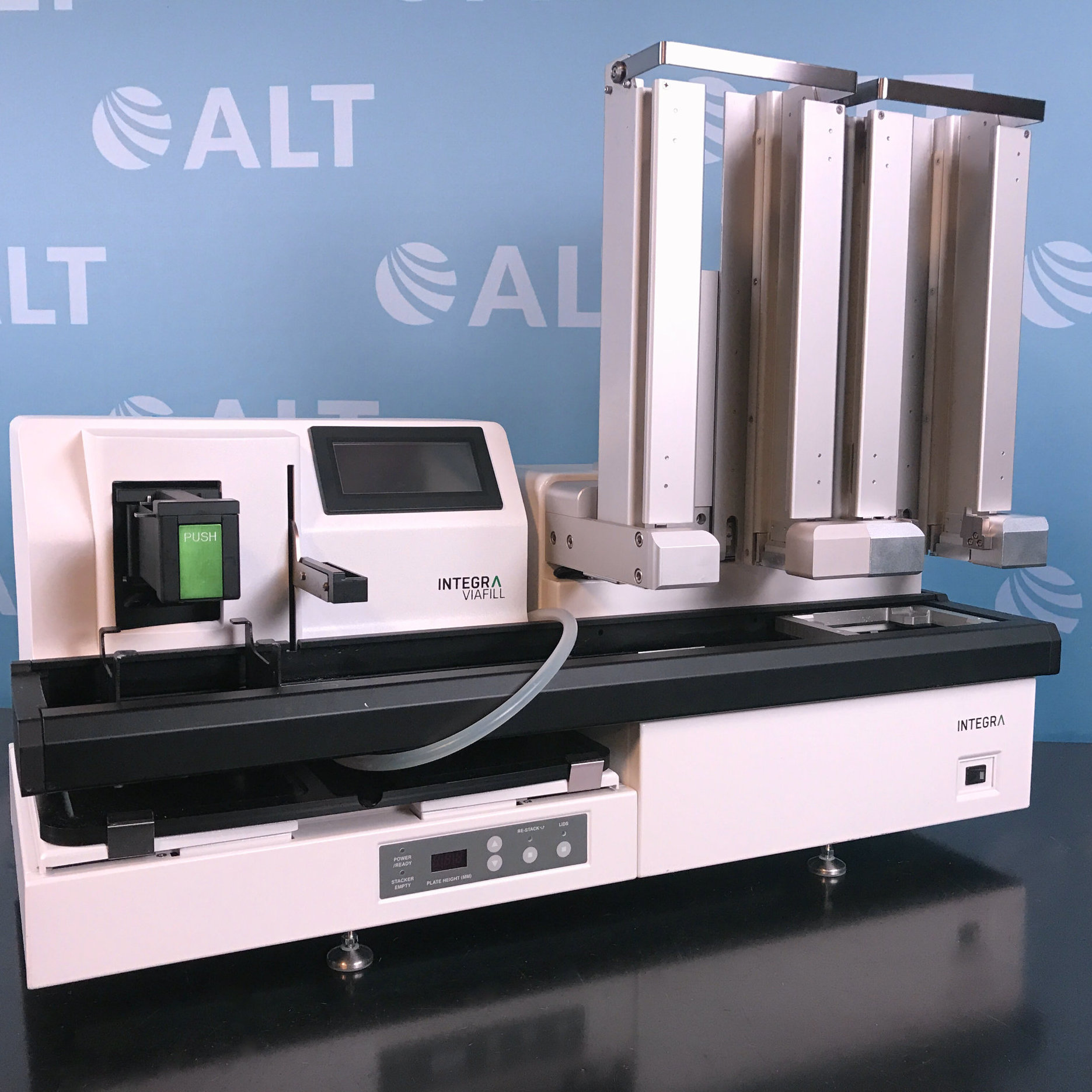 Viafill Rapid Reagent Dispenser With Viafill Stacker Name