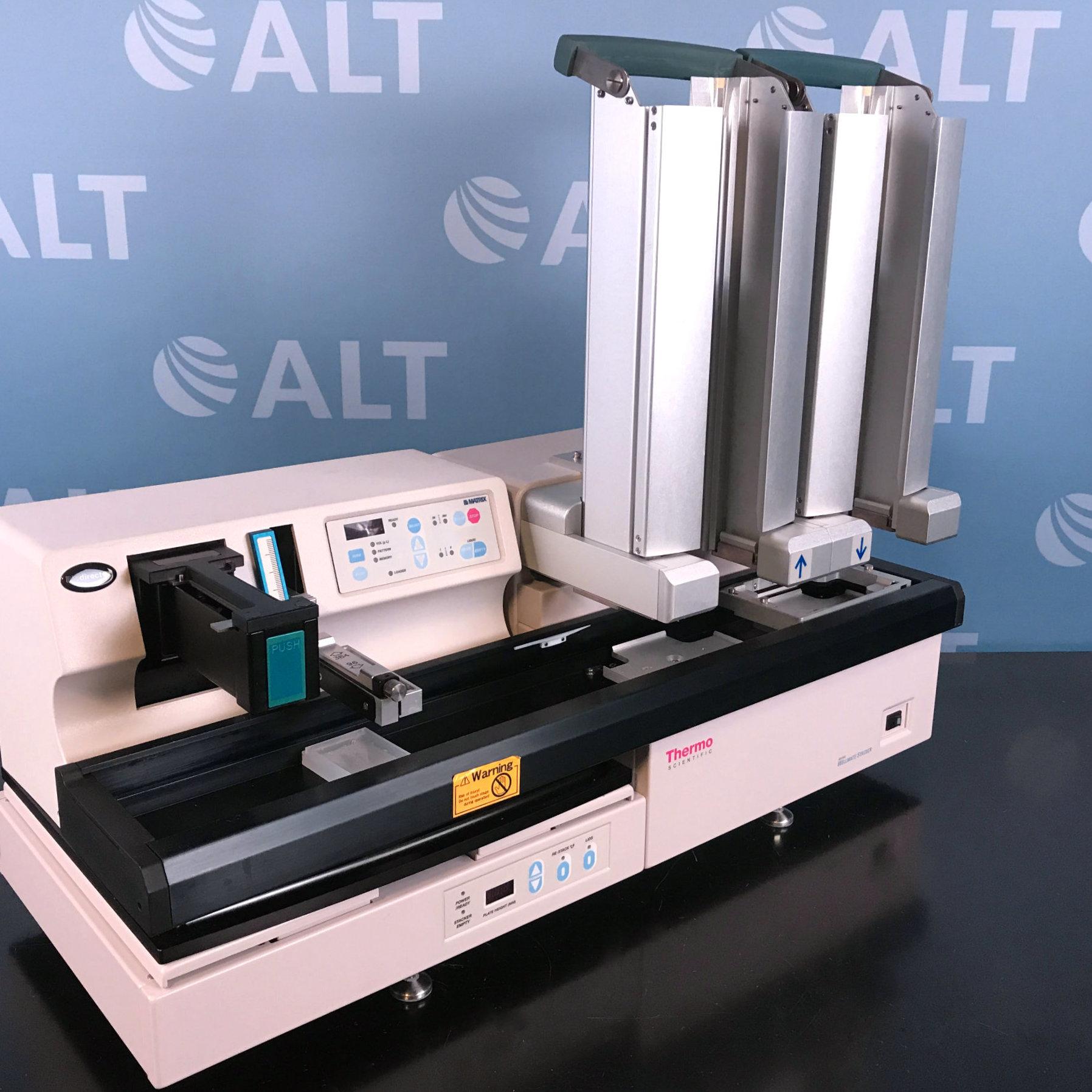 Thermo Scientific Matrix Wellmate Microplate Dispenser With Matrix Wellmate Stacker Image