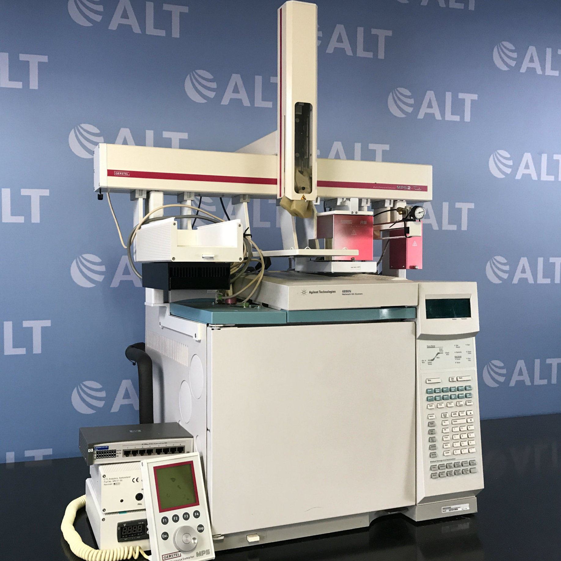 Agilent Technologies 6890N (G1540N) Gas Chromatograph System With Gerstel MPS2 Sampler Image
