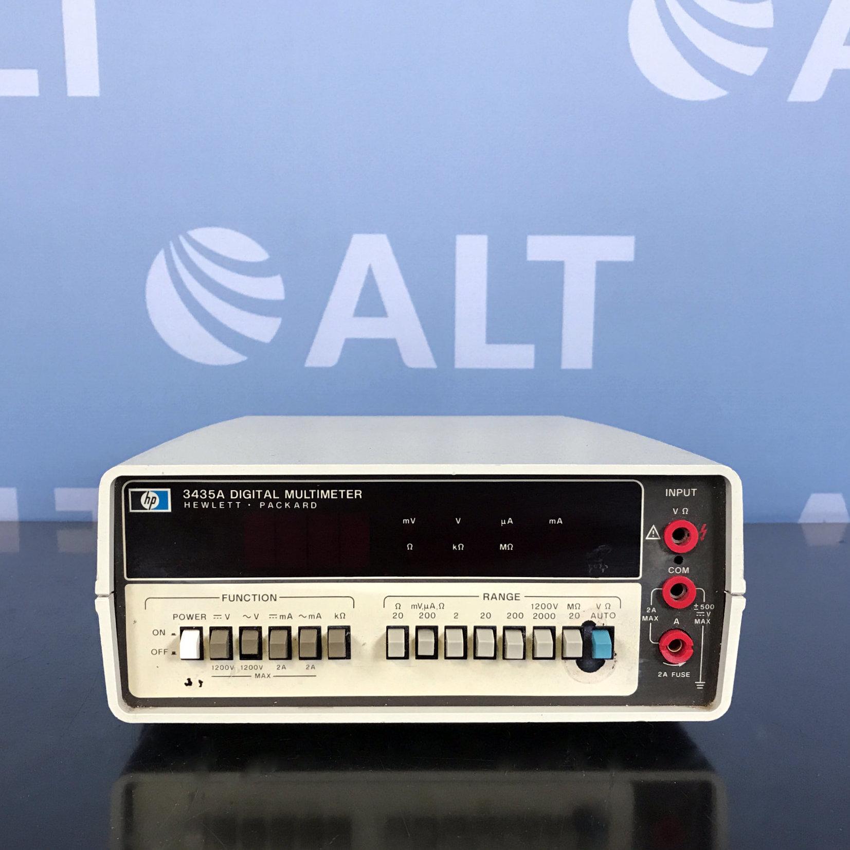 Hewlett Packard 3435A Digital Multimeter Image