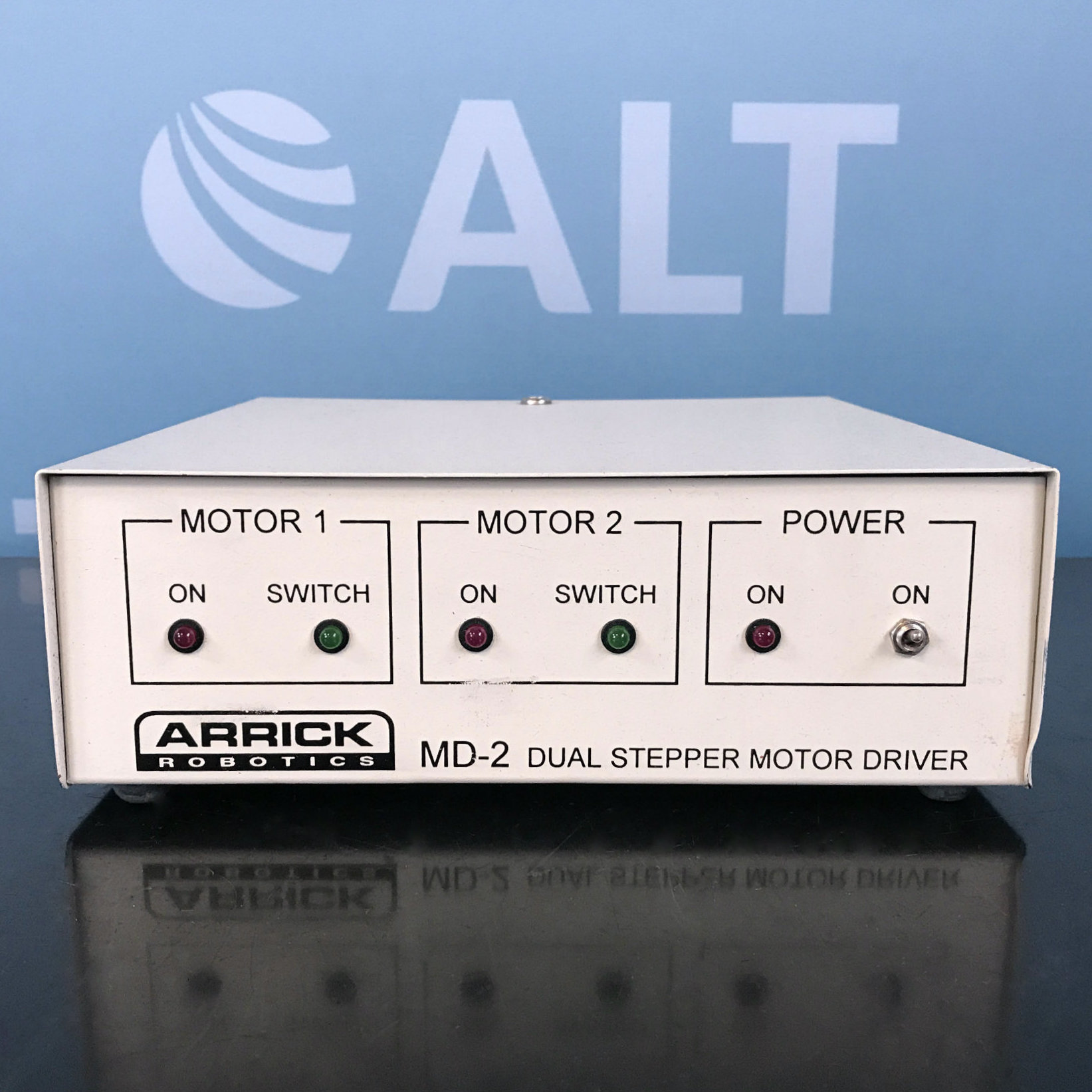 Arrick Robotics MD2 Dual Stepper Motor System Image