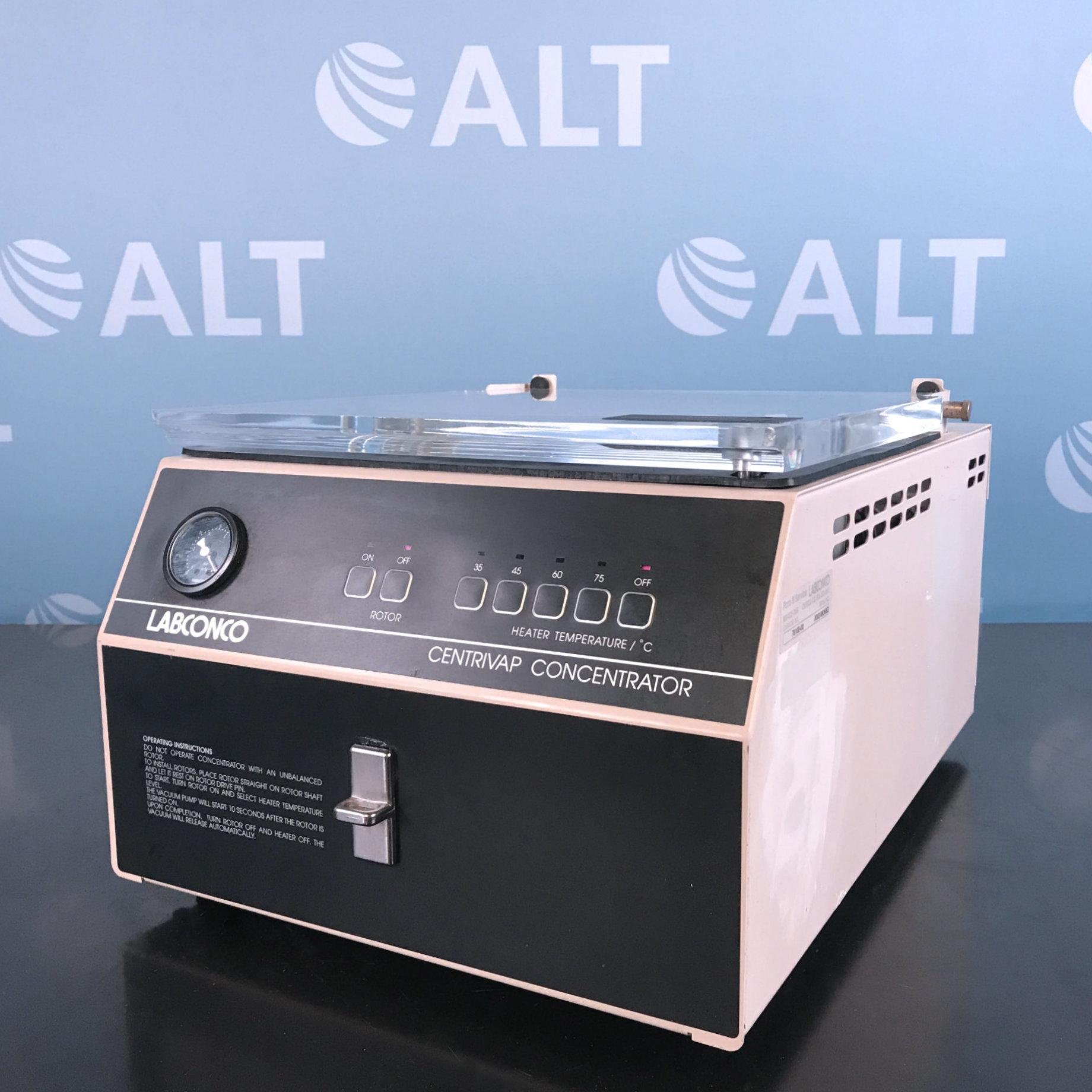 Labconco 78100-00 D Centrivap Concentrator Centrifuge Image