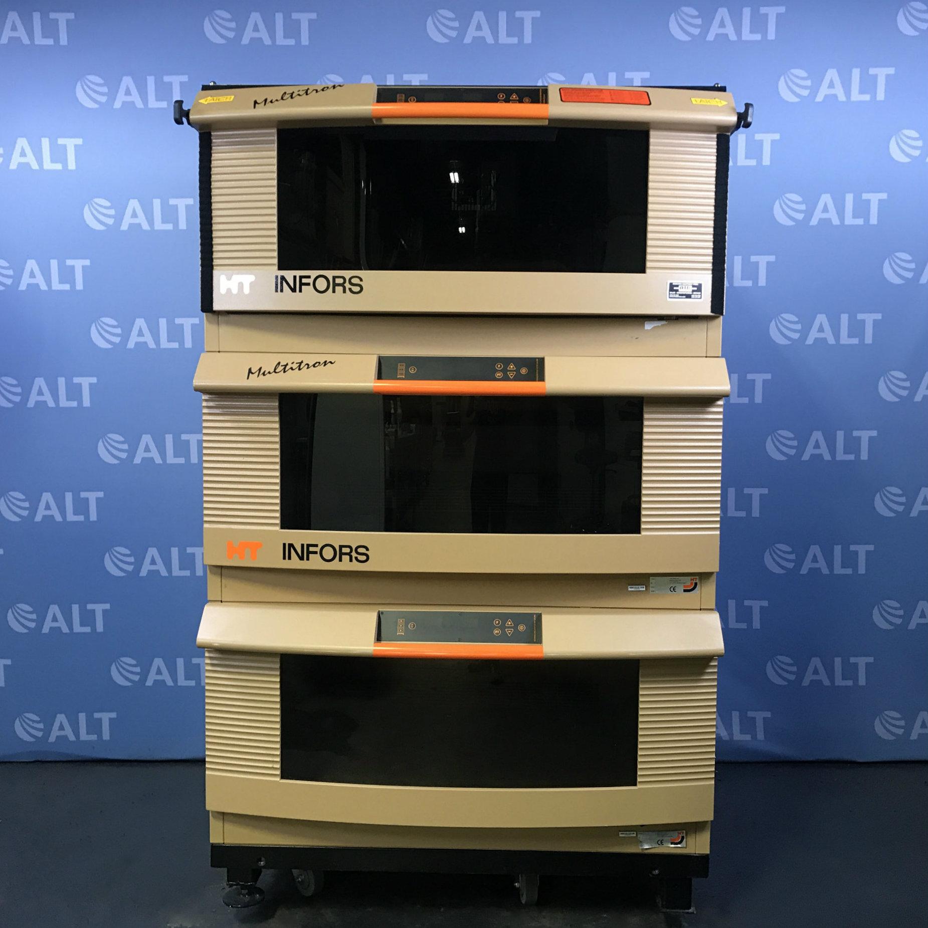 Infors Multitron Standard Triple Stack Incubator Shaker Type I10302 Image