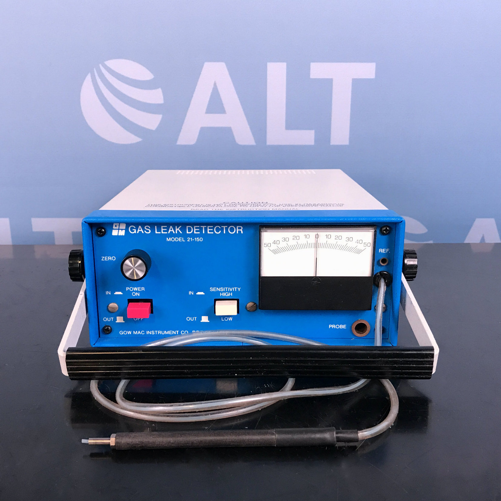 Gow-Mac Helium Leak Detector Model 21-150 Image