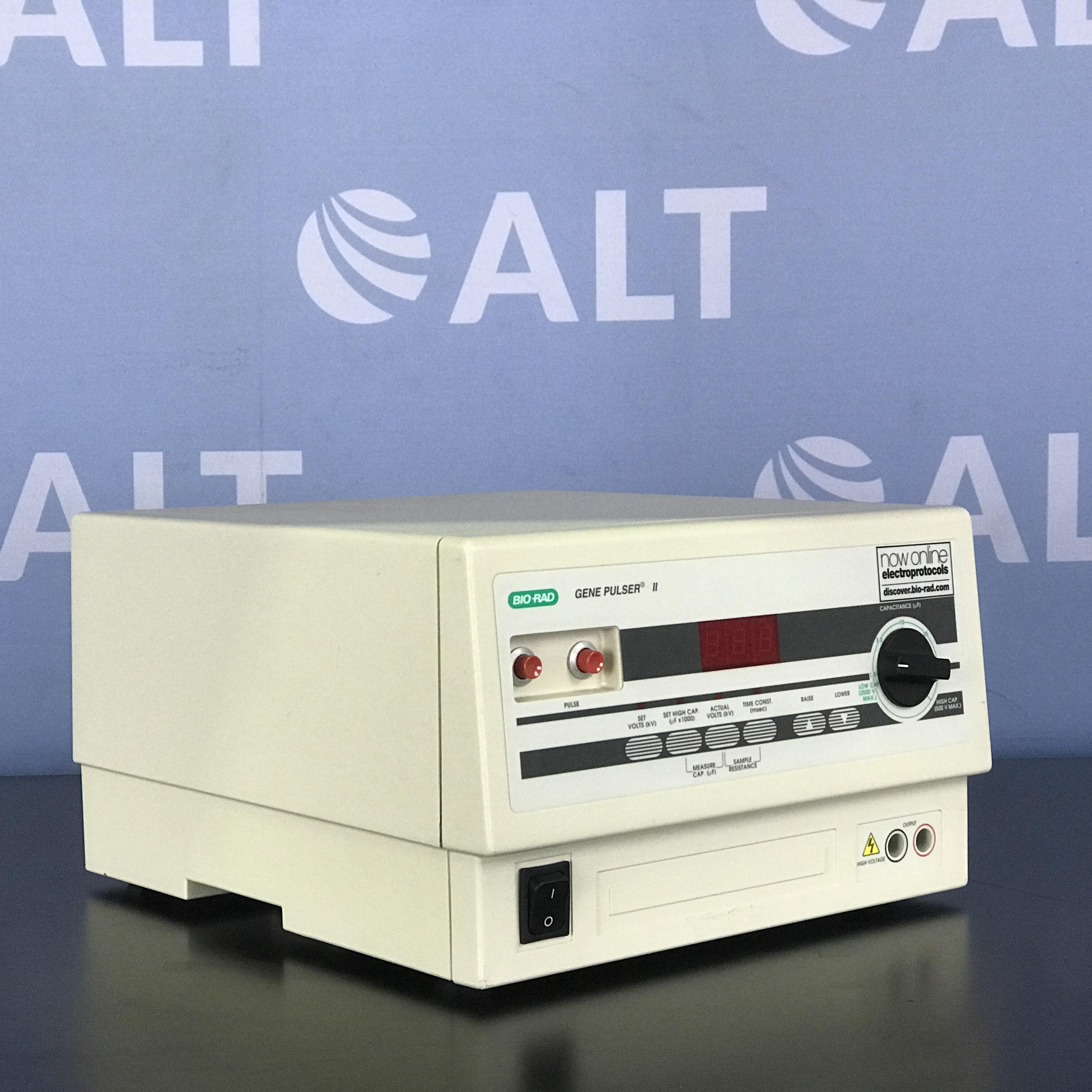 Bio-Rad Gene Pulser II Apparatus Image