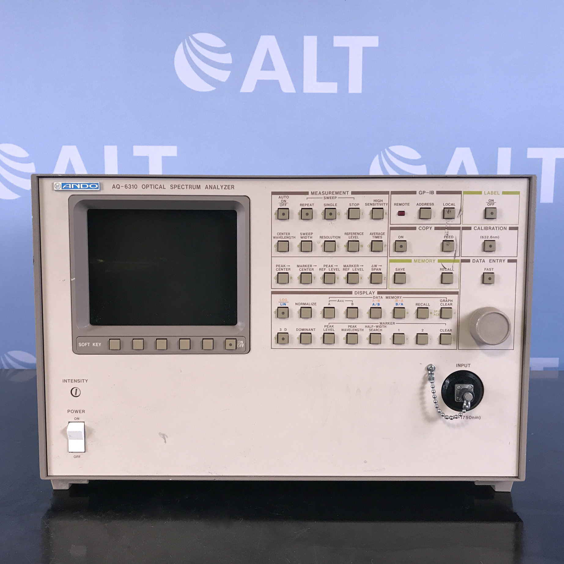 AQ-6310B Optical Spectrum Analyzer Name