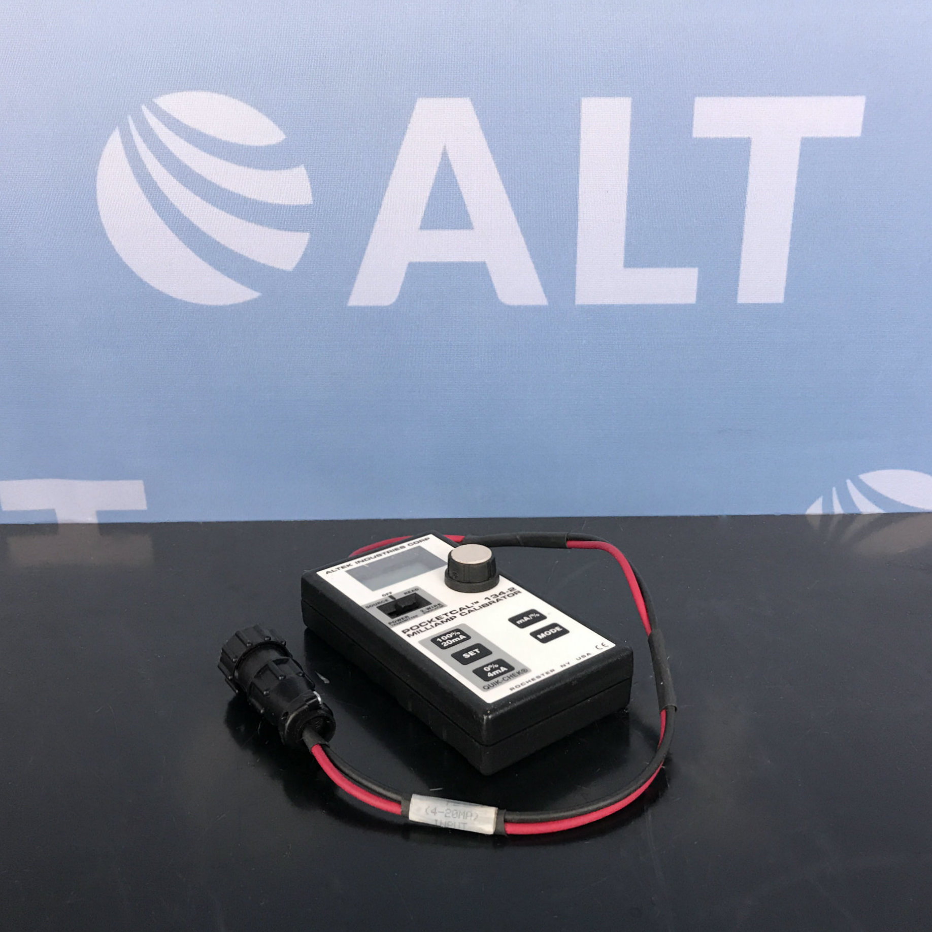 Altek 134-2 POCKETCAL Milliamp Calibrator Image