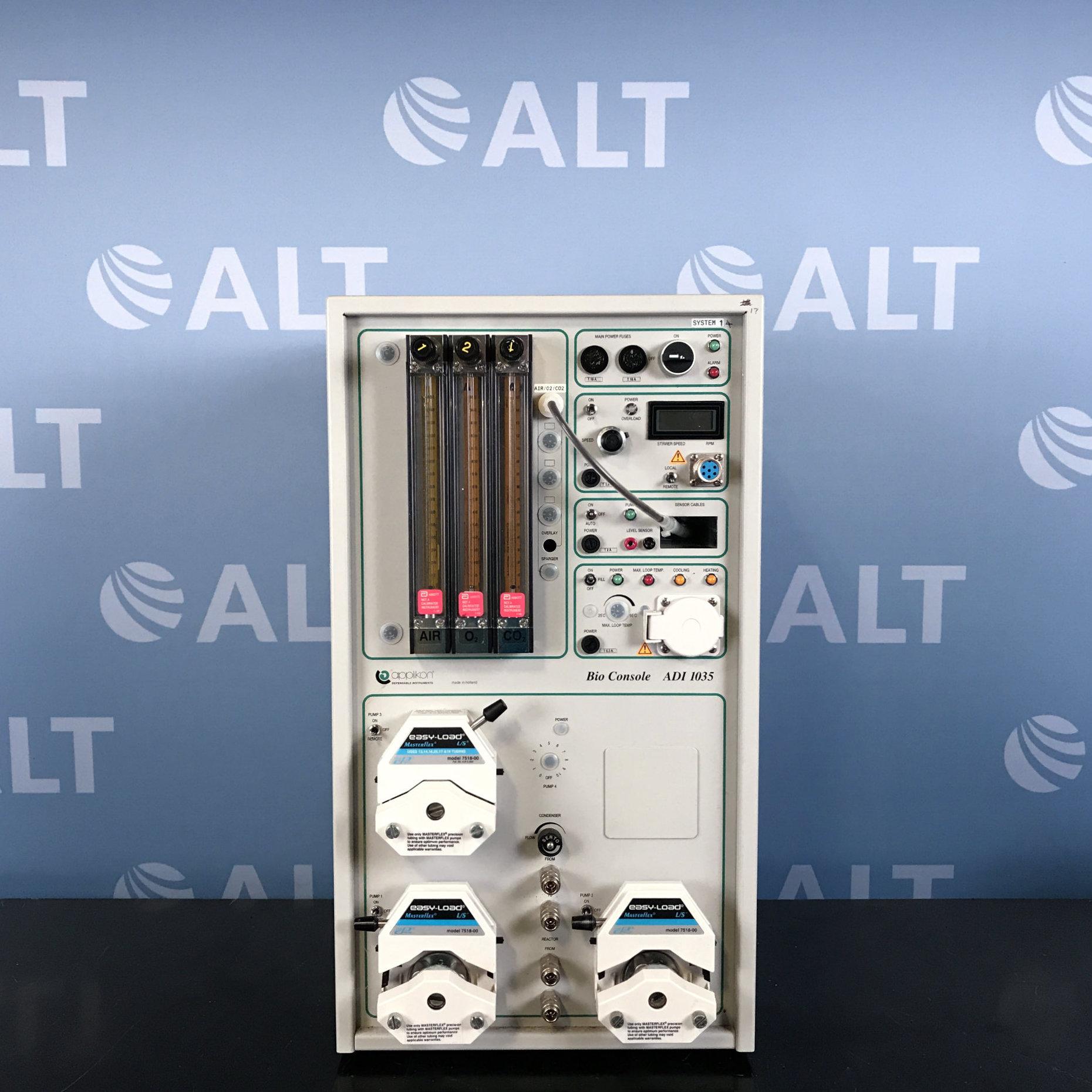 Applikon Biotechnology Bio Console ADI 1035 Fermenter With ADI 1030 Bio Controller Image